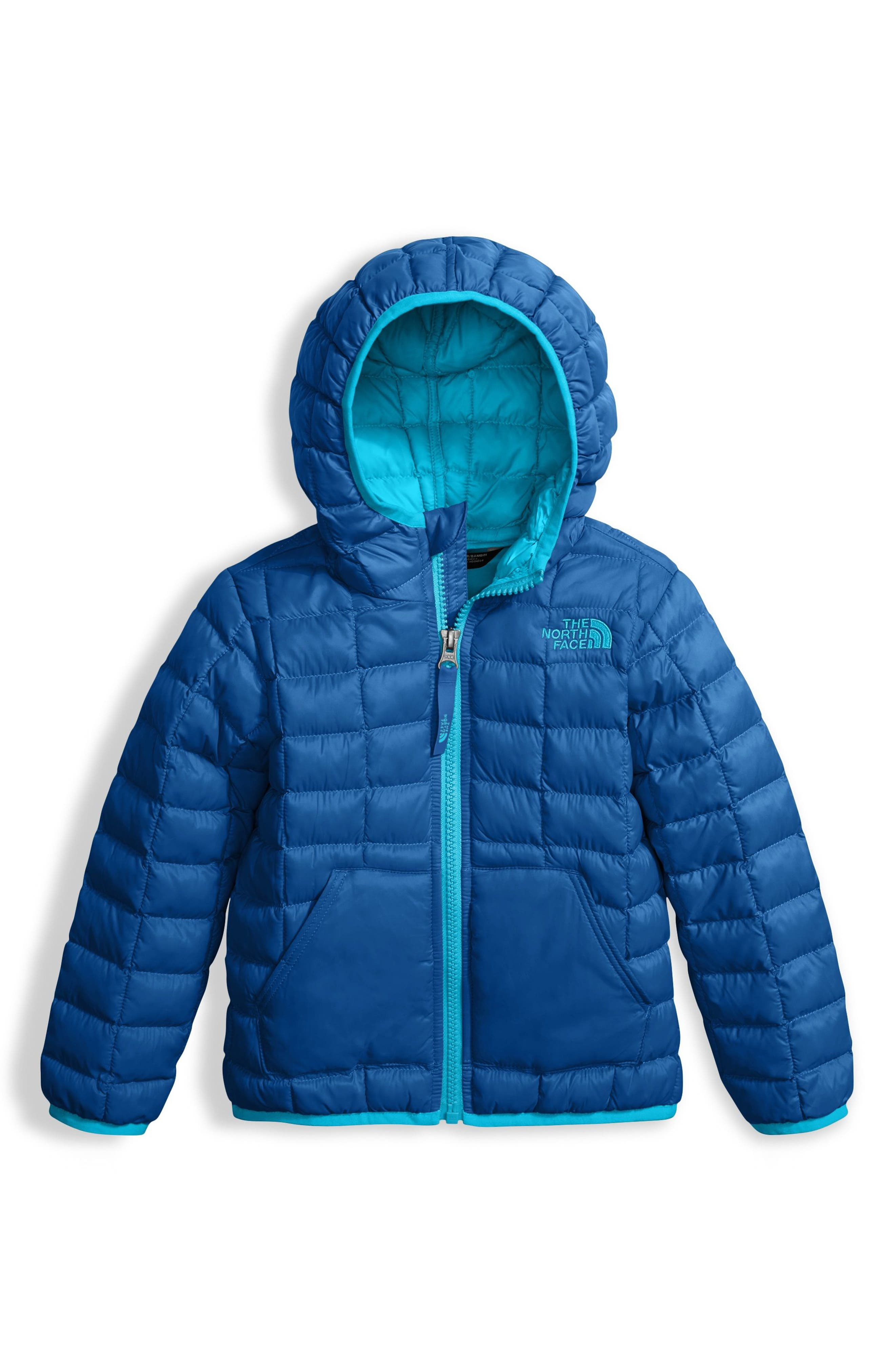 ThermoBall<sup>™</sup> PrimaLoft<sup>®</sup> Hooded Jacket,                             Main thumbnail 1, color,                             Turkish Sea