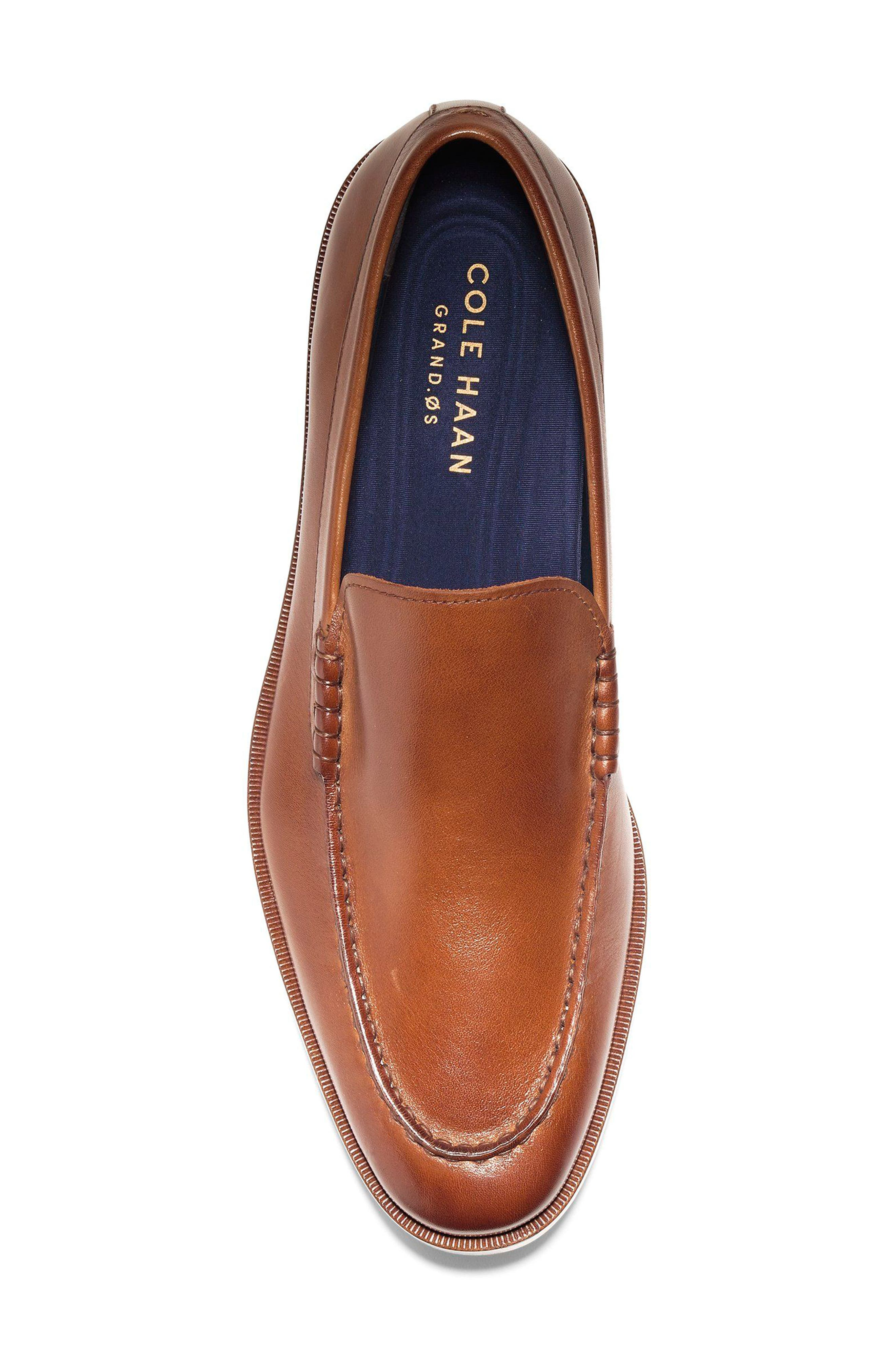 Hamilton Grand Venetian Loafer,                             Alternate thumbnail 5, color,                             British Tan
