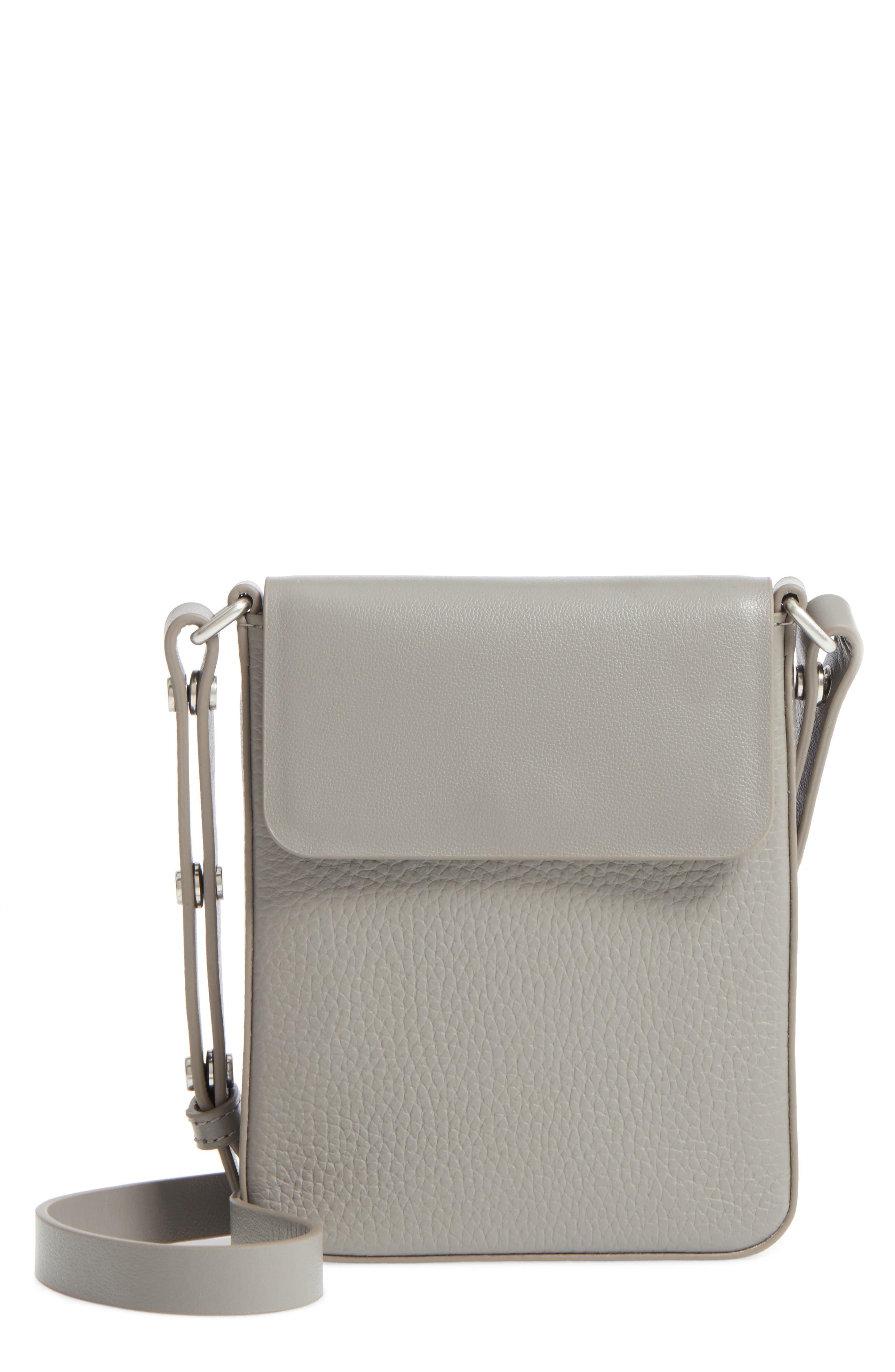 Treasure&Bond Madison Crossbody Bag,                         Main,                         color, Grey December