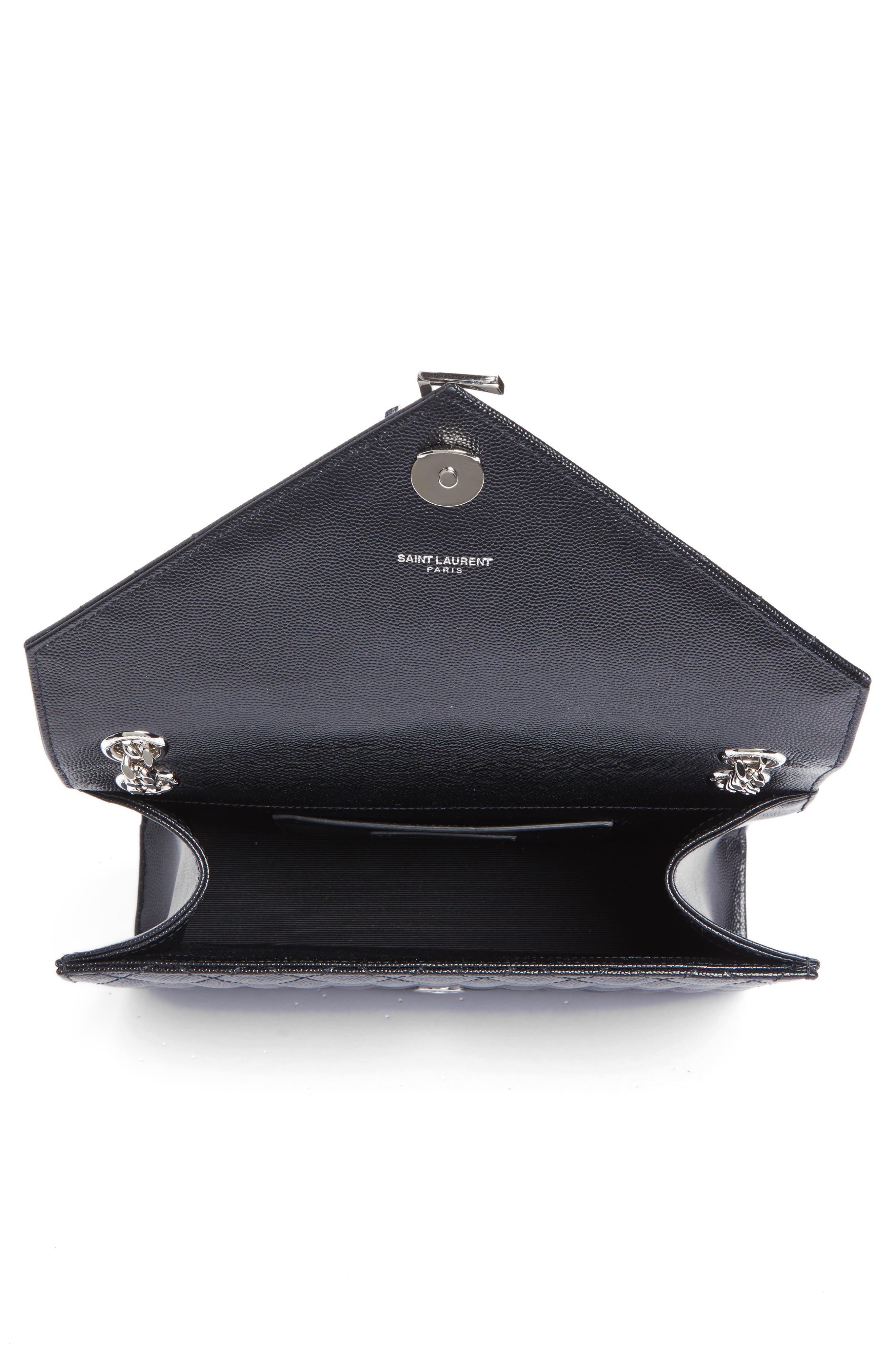 Alternate Image 4  - Saint Laurent Medium Monogram Quilted Leather Shoulder Bag