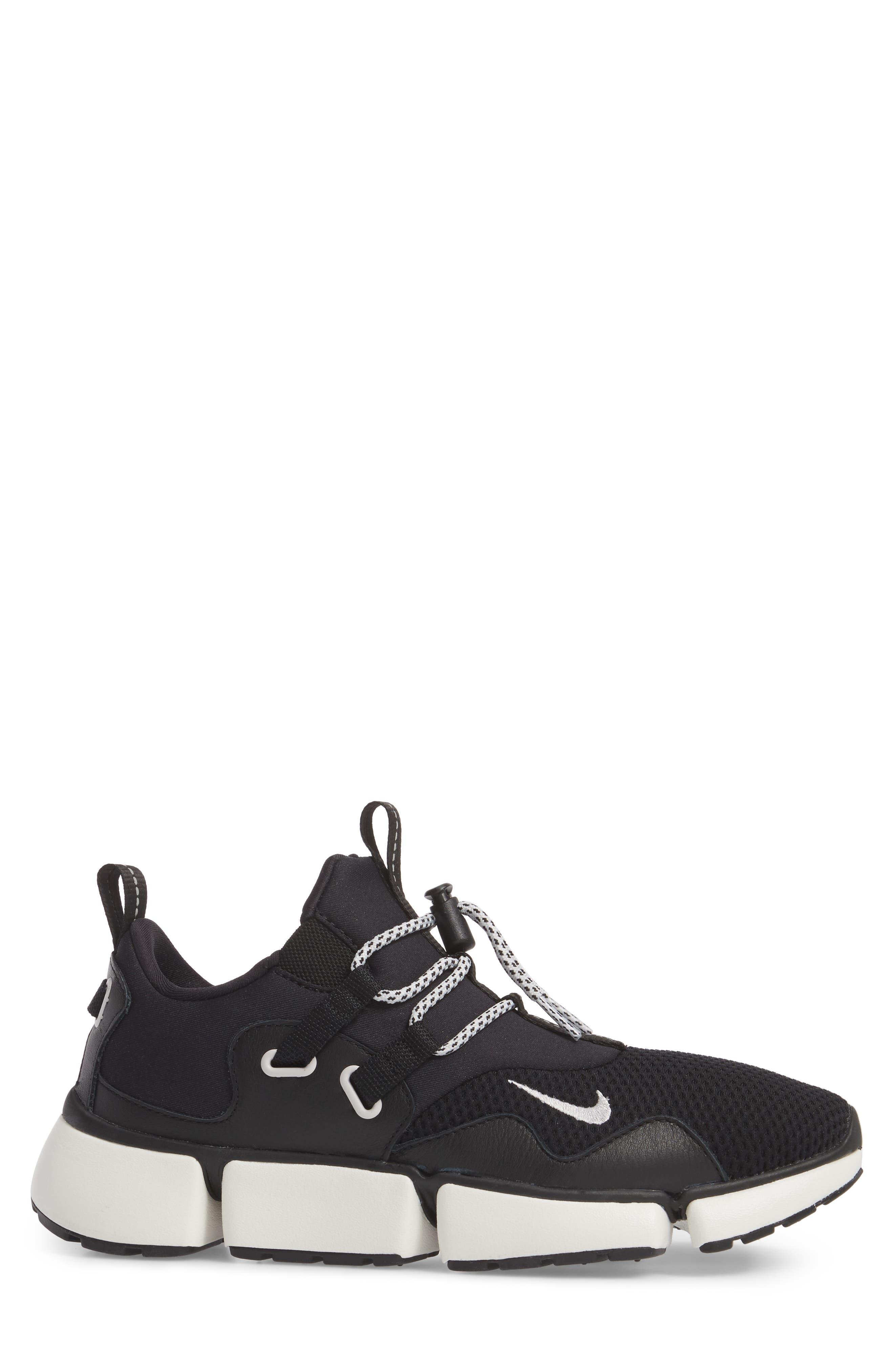 Pocket Knife DM Sneaker,                             Alternate thumbnail 3, color,                             Black/ Vast Grey/ Sail