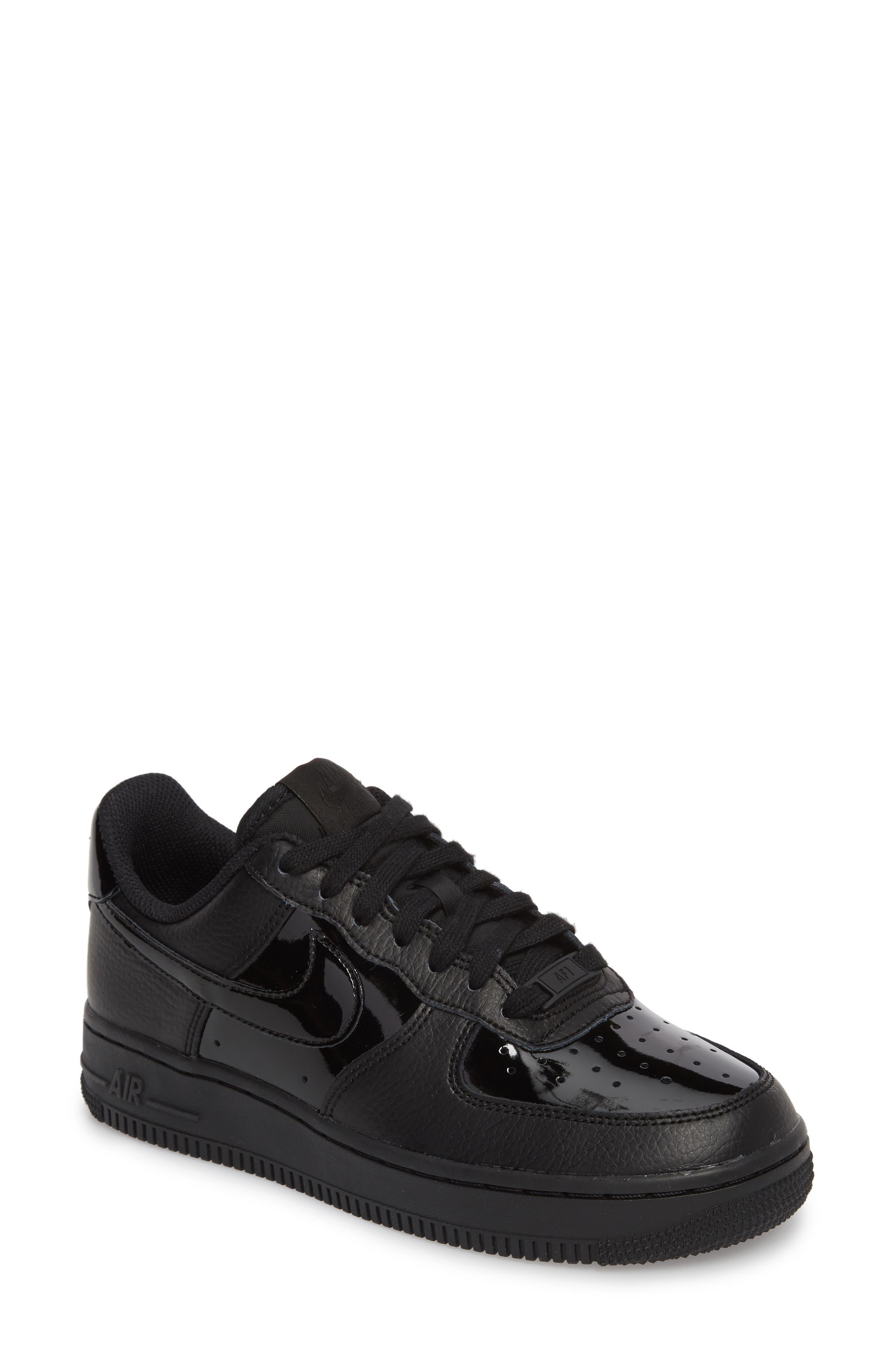 Alternate Image 1 Selected - Nike Air Force 1 '07 Patent Sneaker (Women)