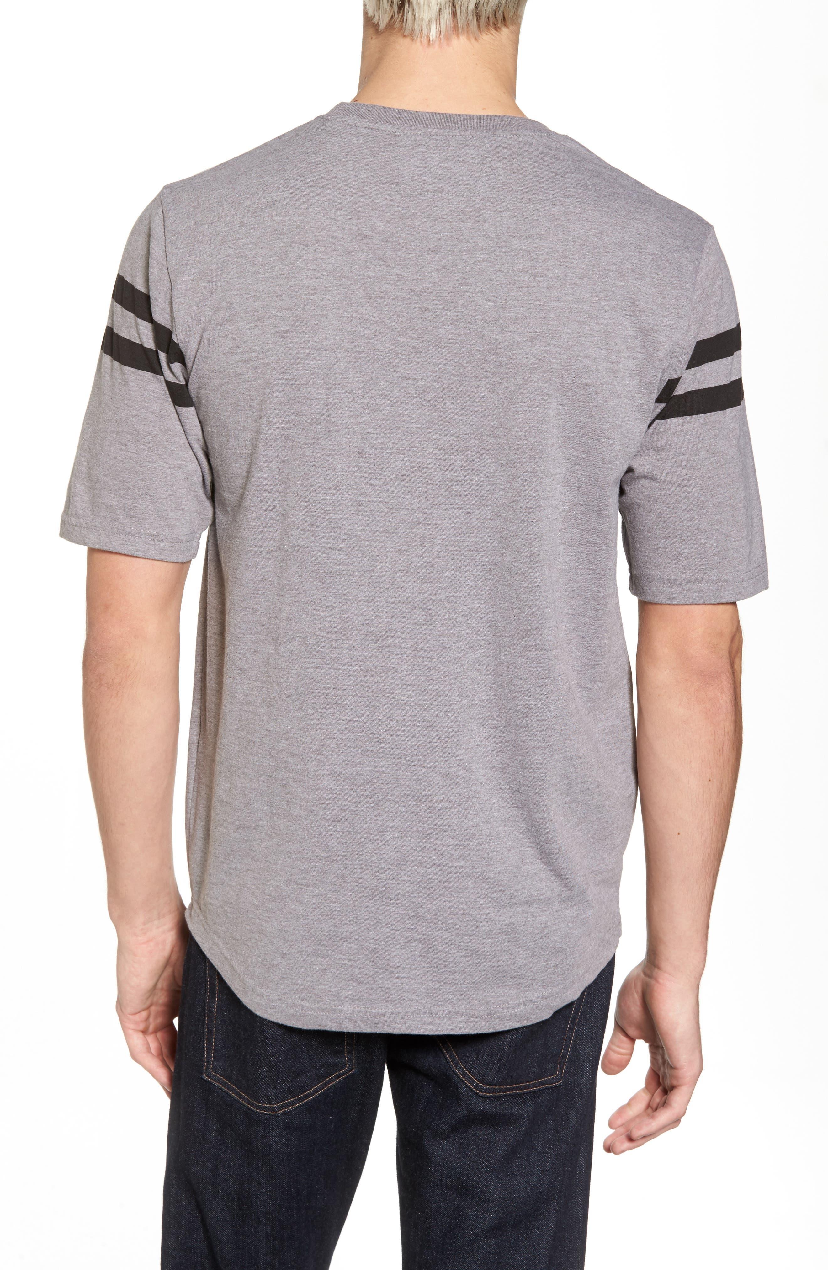 Crosby Chicago Blackhawks T-Shirt,                             Alternate thumbnail 2, color,                             Heather Grey
