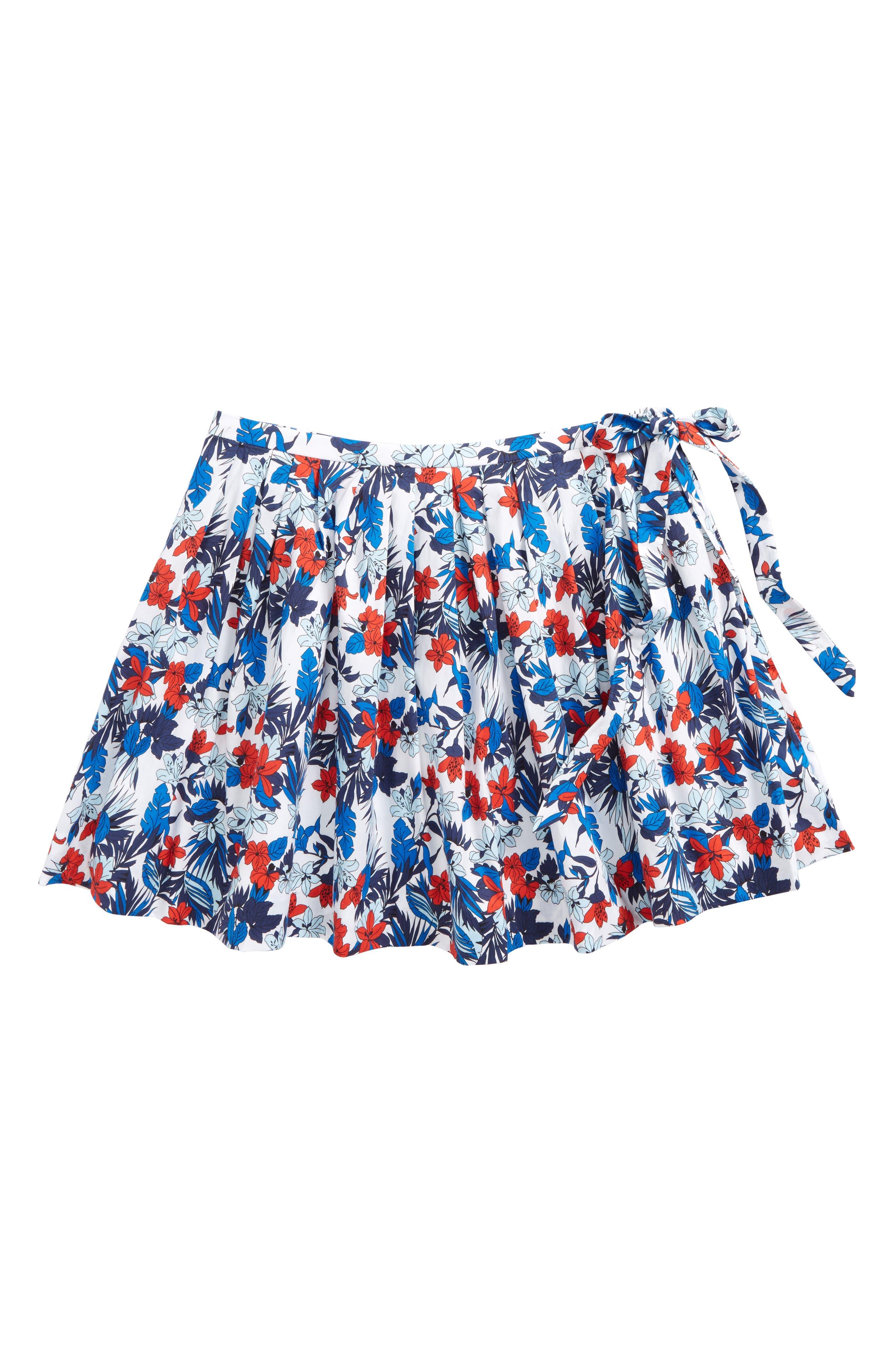 Alternate Image 1 Selected - Milly Minis Wrap Skirt (Big Girls)