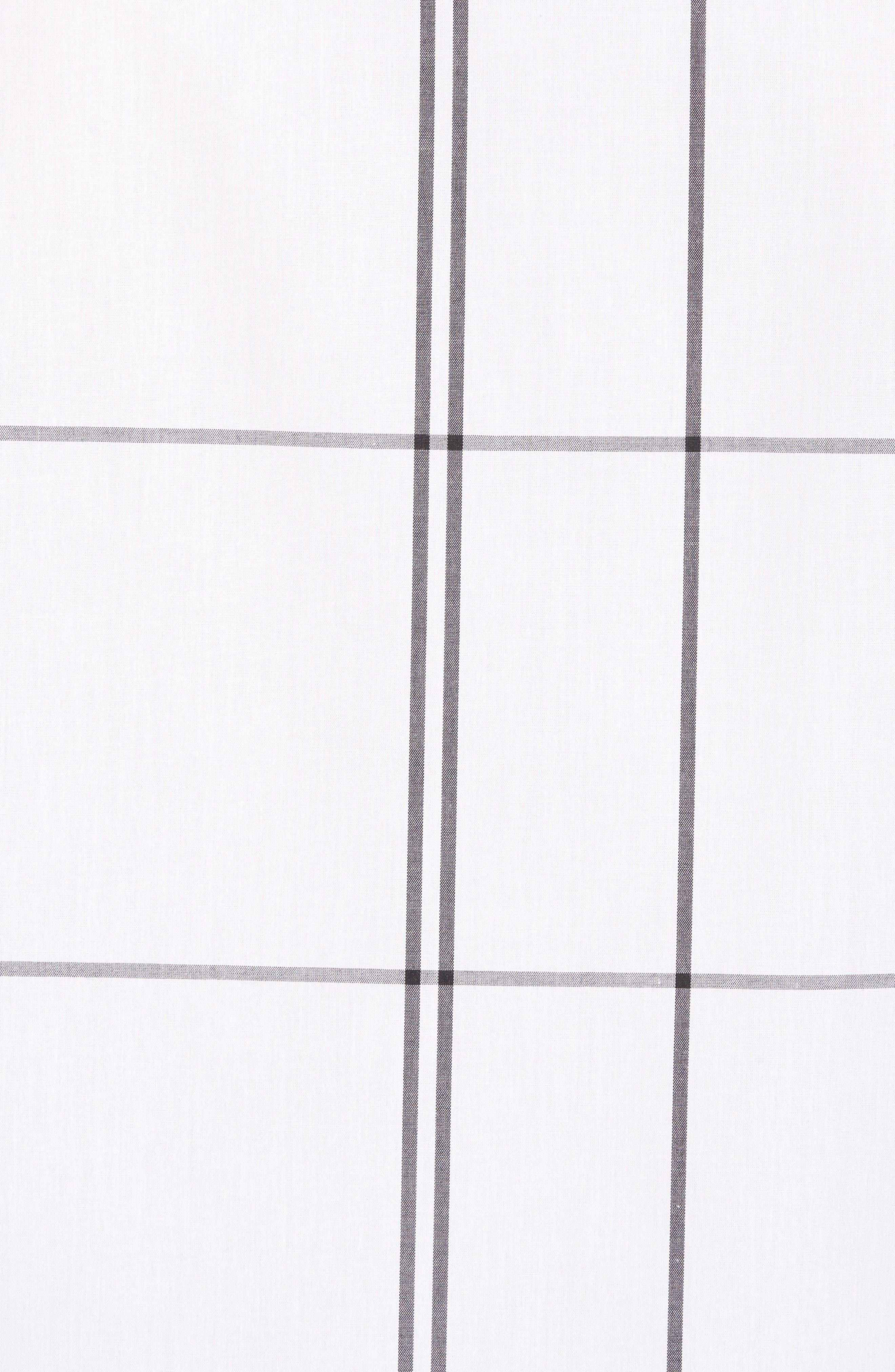 Windowpane Sport Shirt,                             Alternate thumbnail 5, color,                             White Exploded Plaid