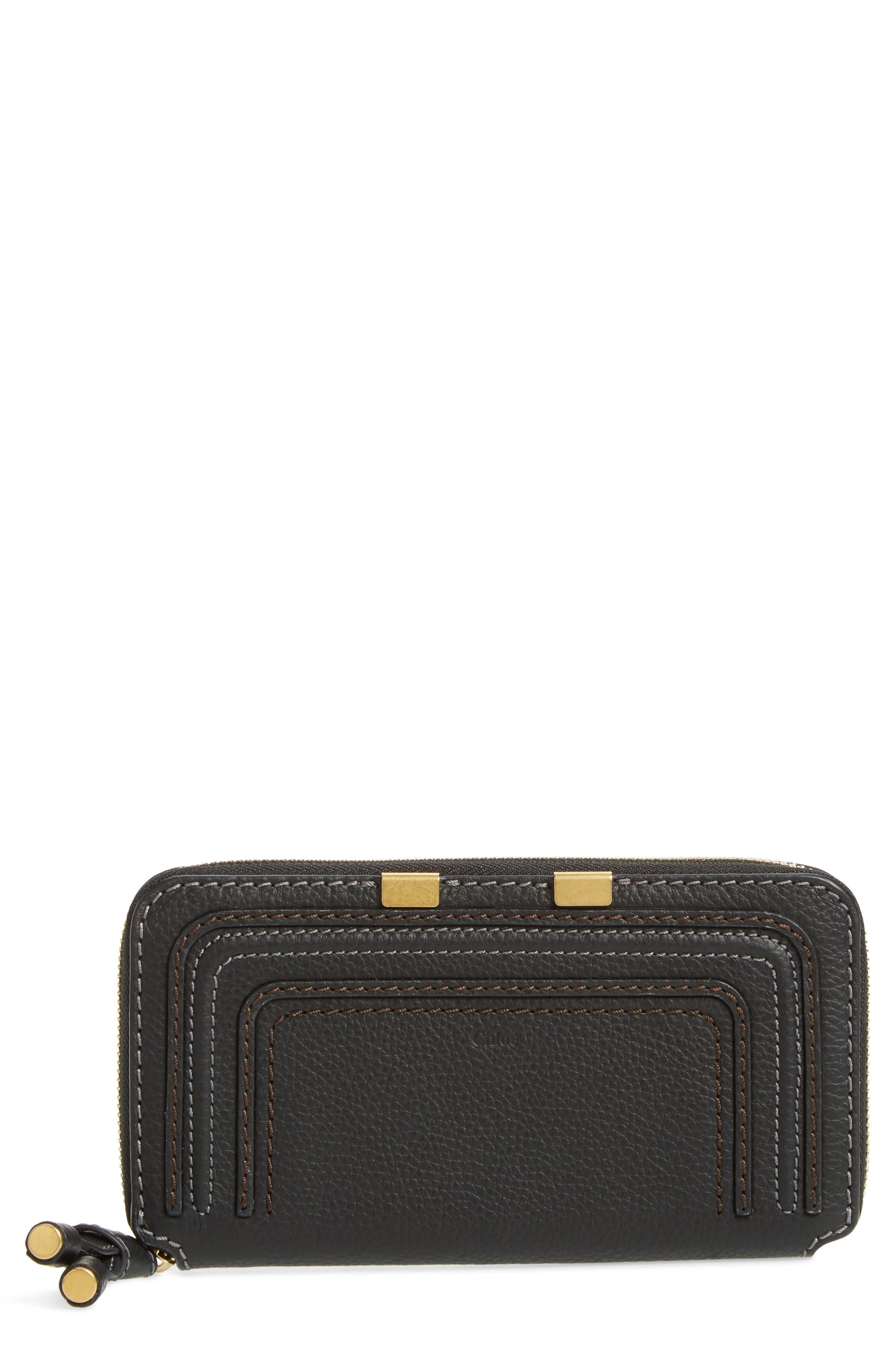 Alternate Image 1 Selected - Chloé 'Marcie - Long' Zip Around Wallet