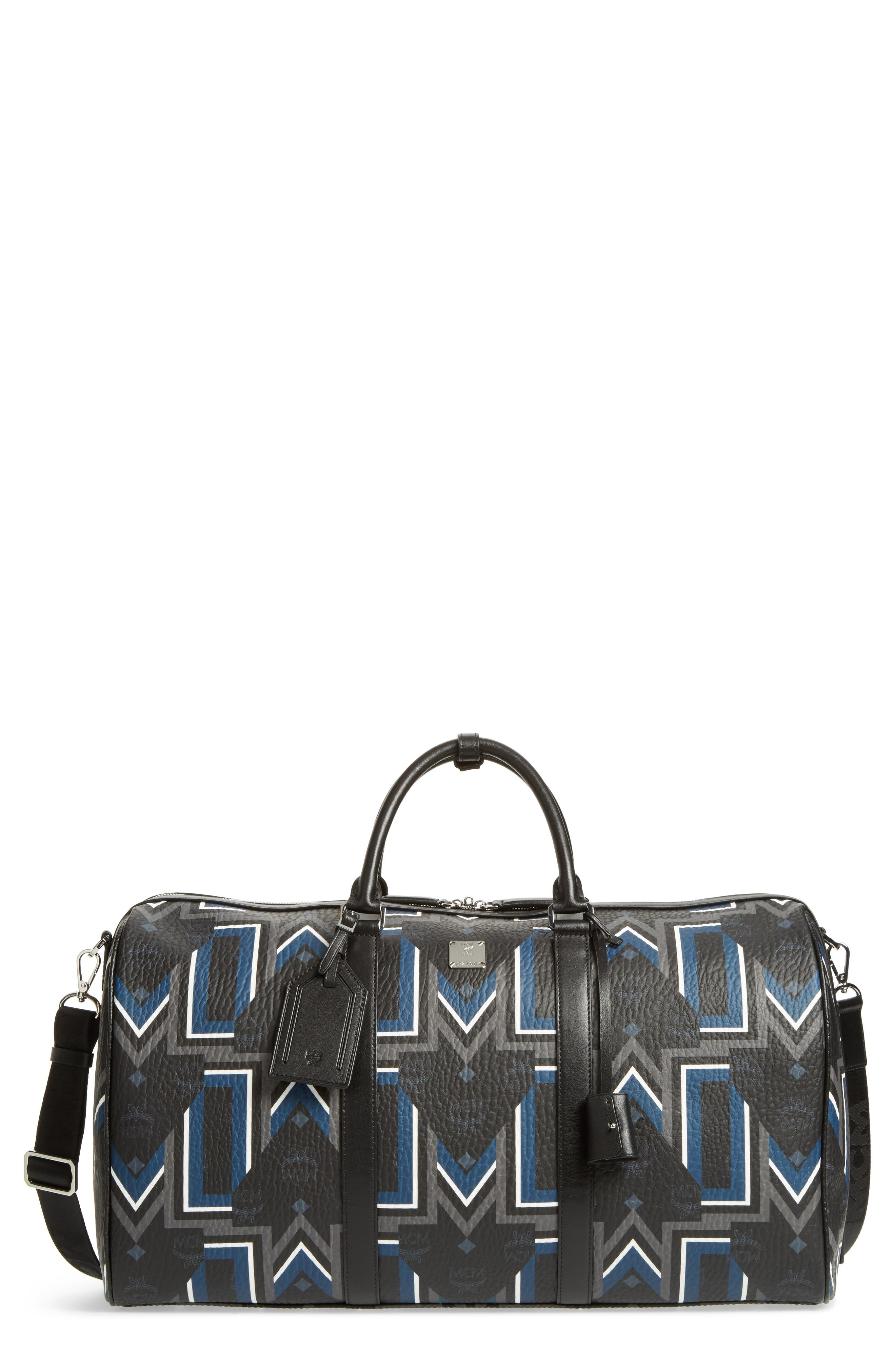 Alternate Image 1 Selected - MCM Gunta Visetos Duffel Bag