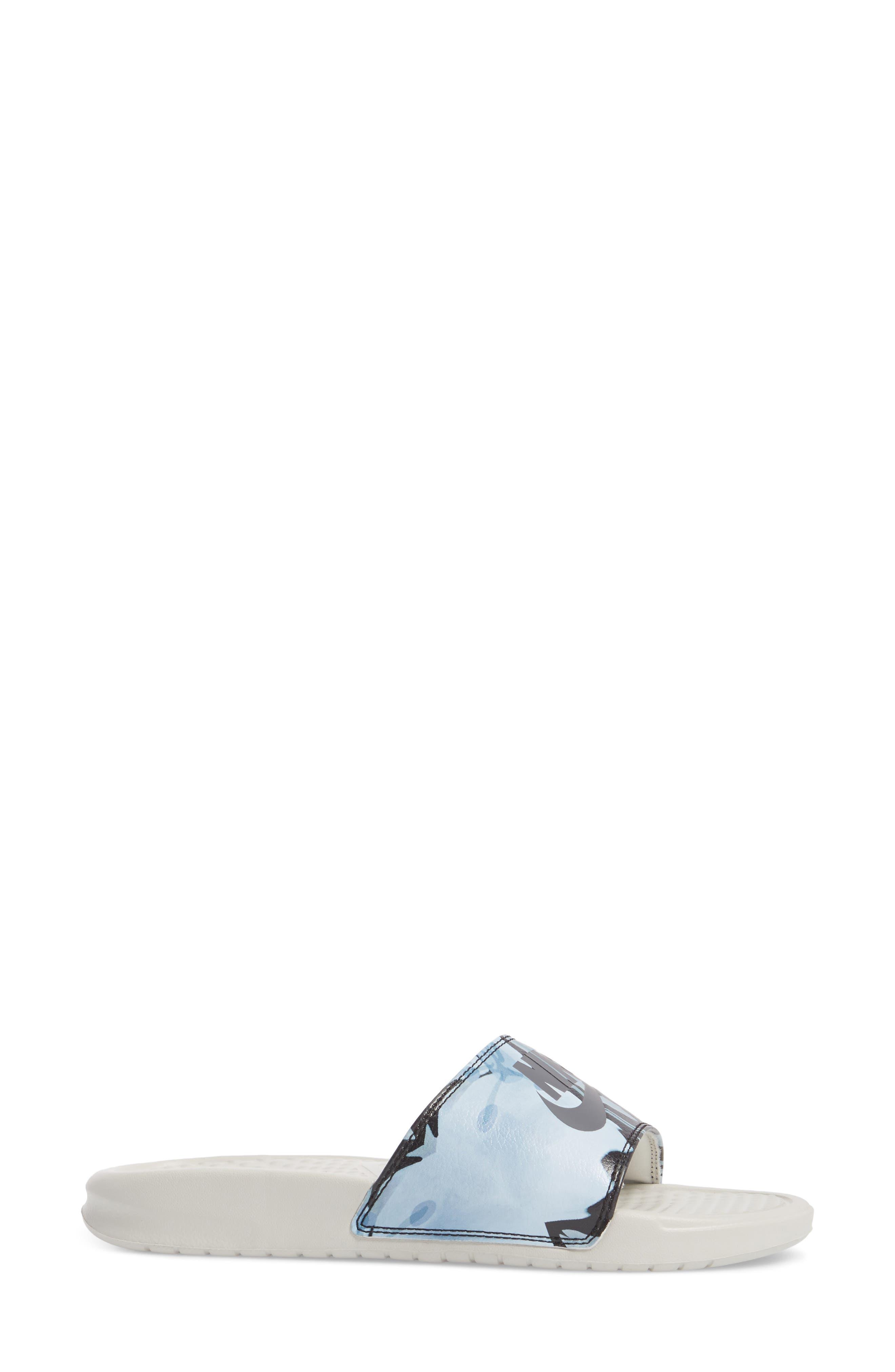Alternate Image 3  - Nike 'Benassi - Just Do It' Print Sandal (Women)