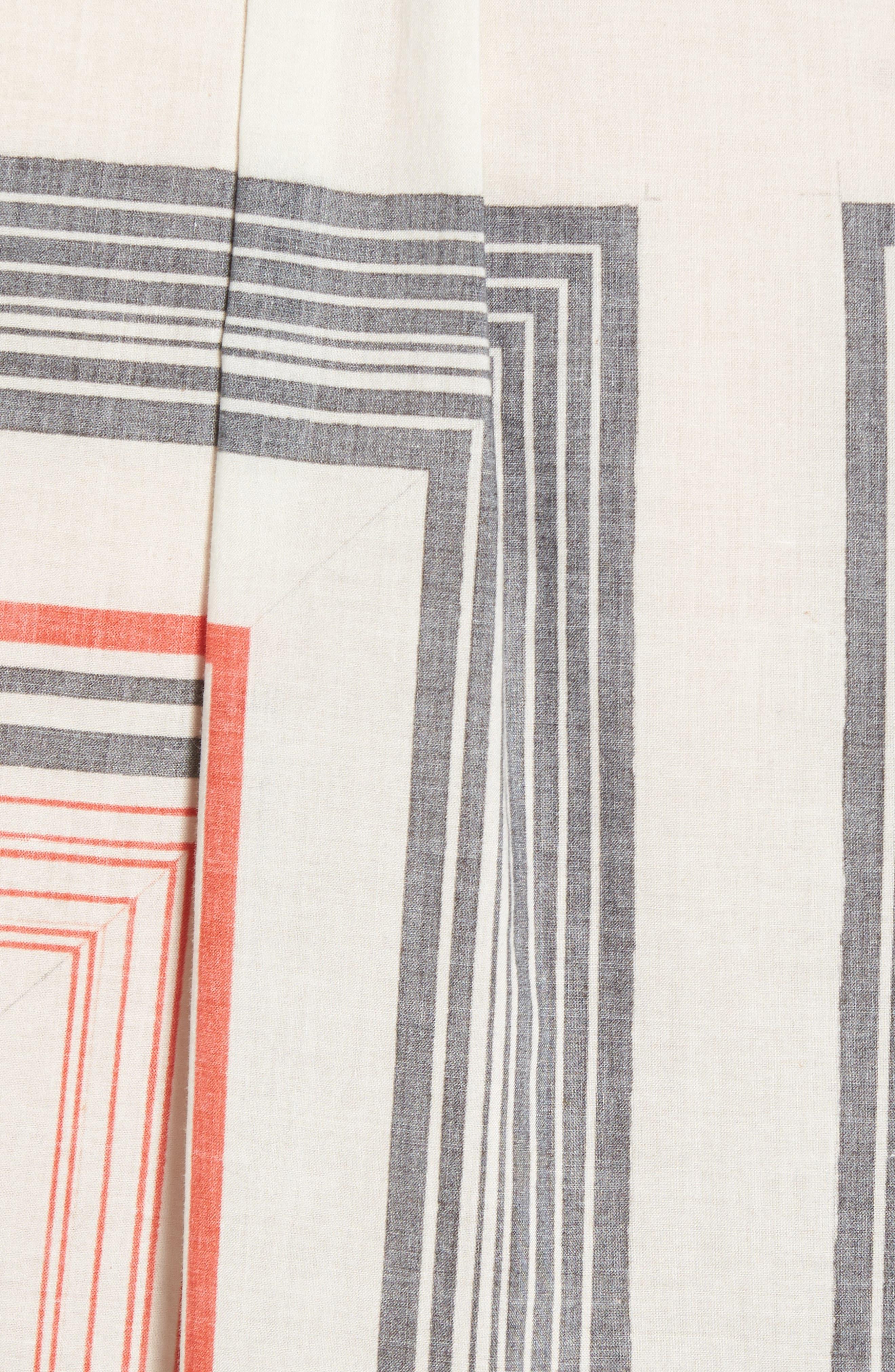 Alternate Image 5  - Billy Reid Murphy Stripe Print Sport Shirt