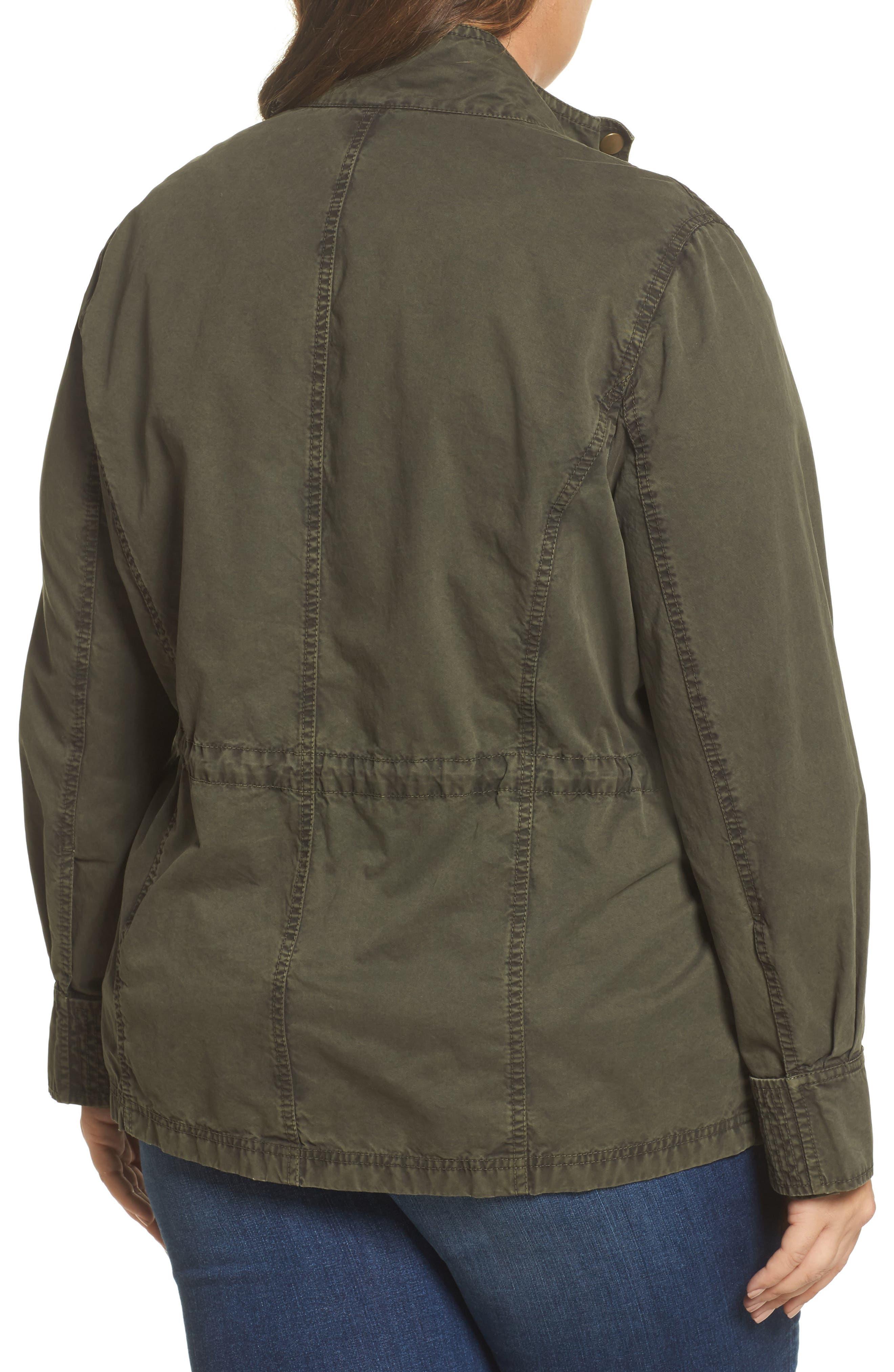 Utility Jacket,                             Alternate thumbnail 2, color,                             Olive Sarma