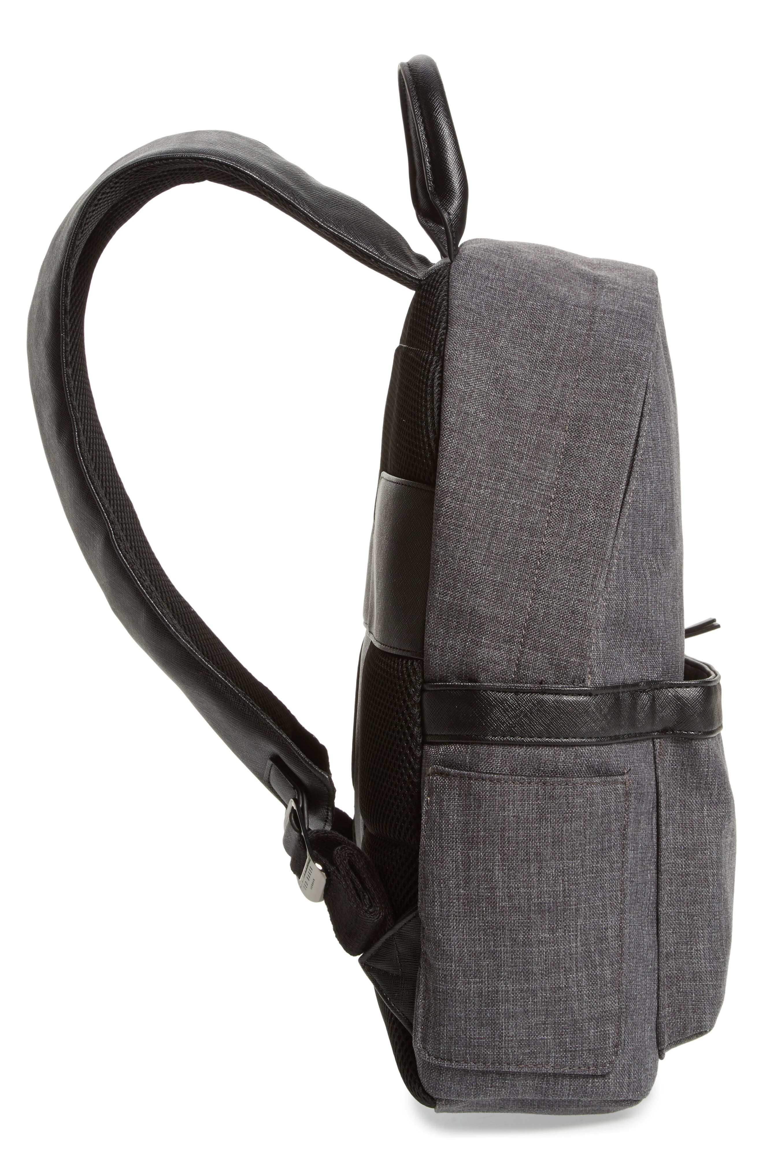 Lychee Backpack,                             Alternate thumbnail 5, color,                             Charcoal
