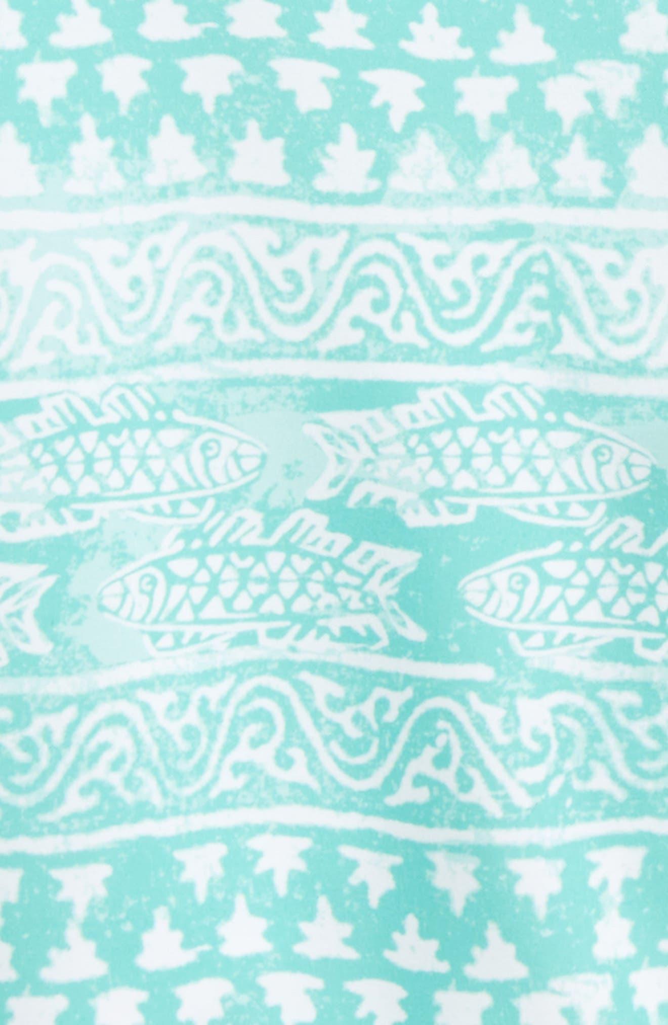 Fish Gate Board Shorts,                             Alternate thumbnail 2, color,                             Antigua Green