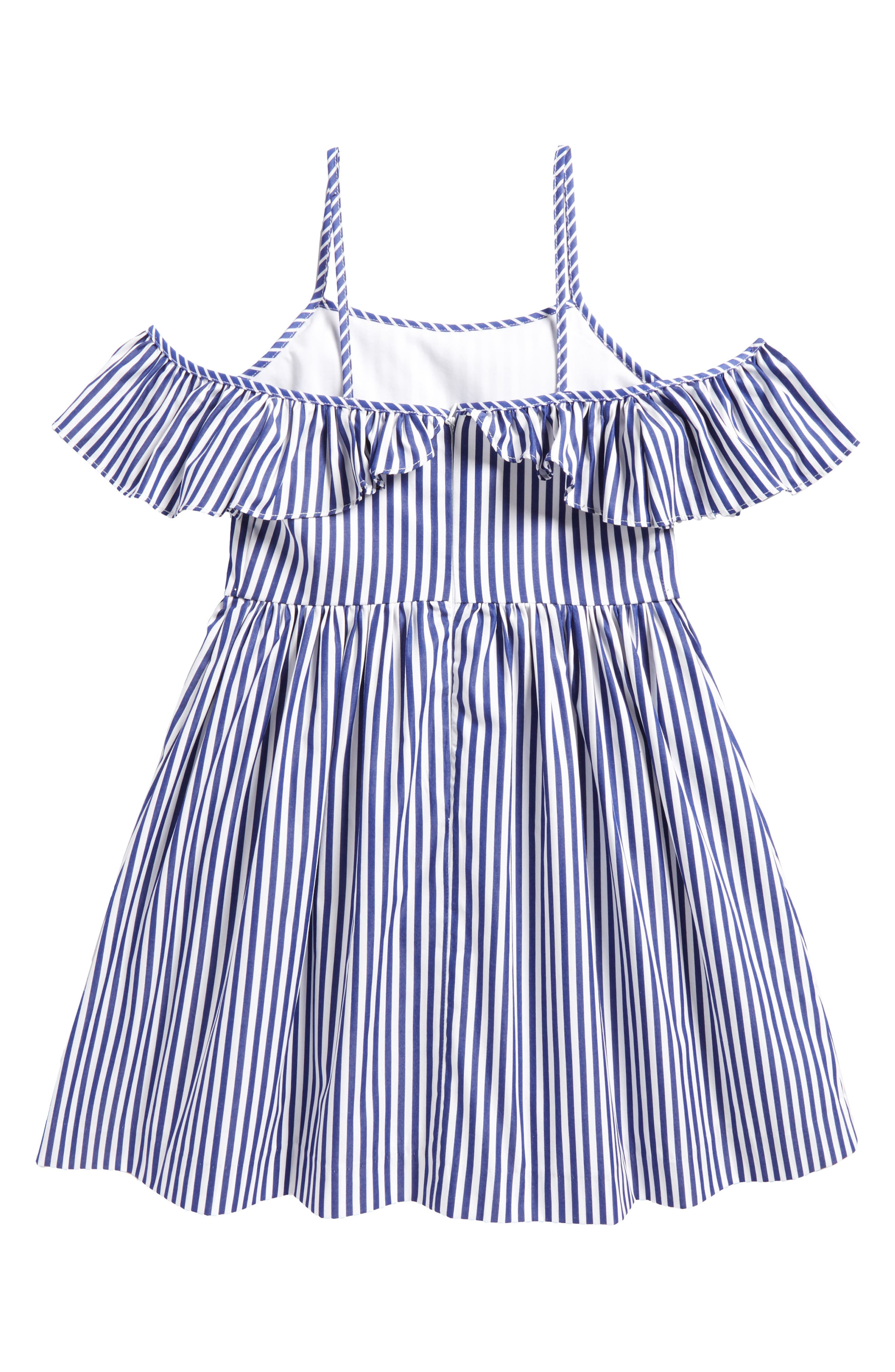 Alternate Image 2  - Milly Minis Bella Dress (Big Girls)