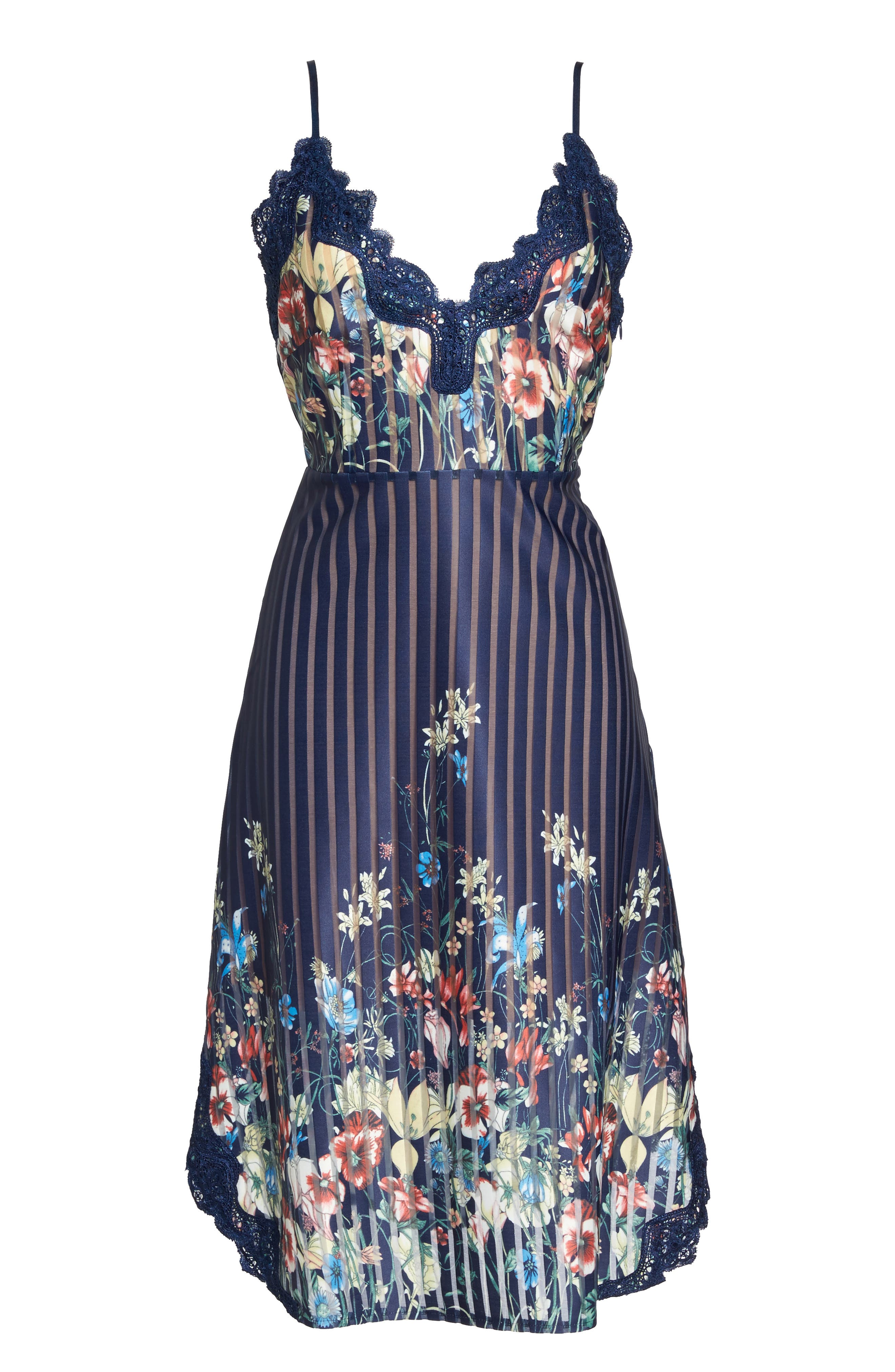 Meadow Dress,                             Alternate thumbnail 6, color,                             Navy Meadow Multi