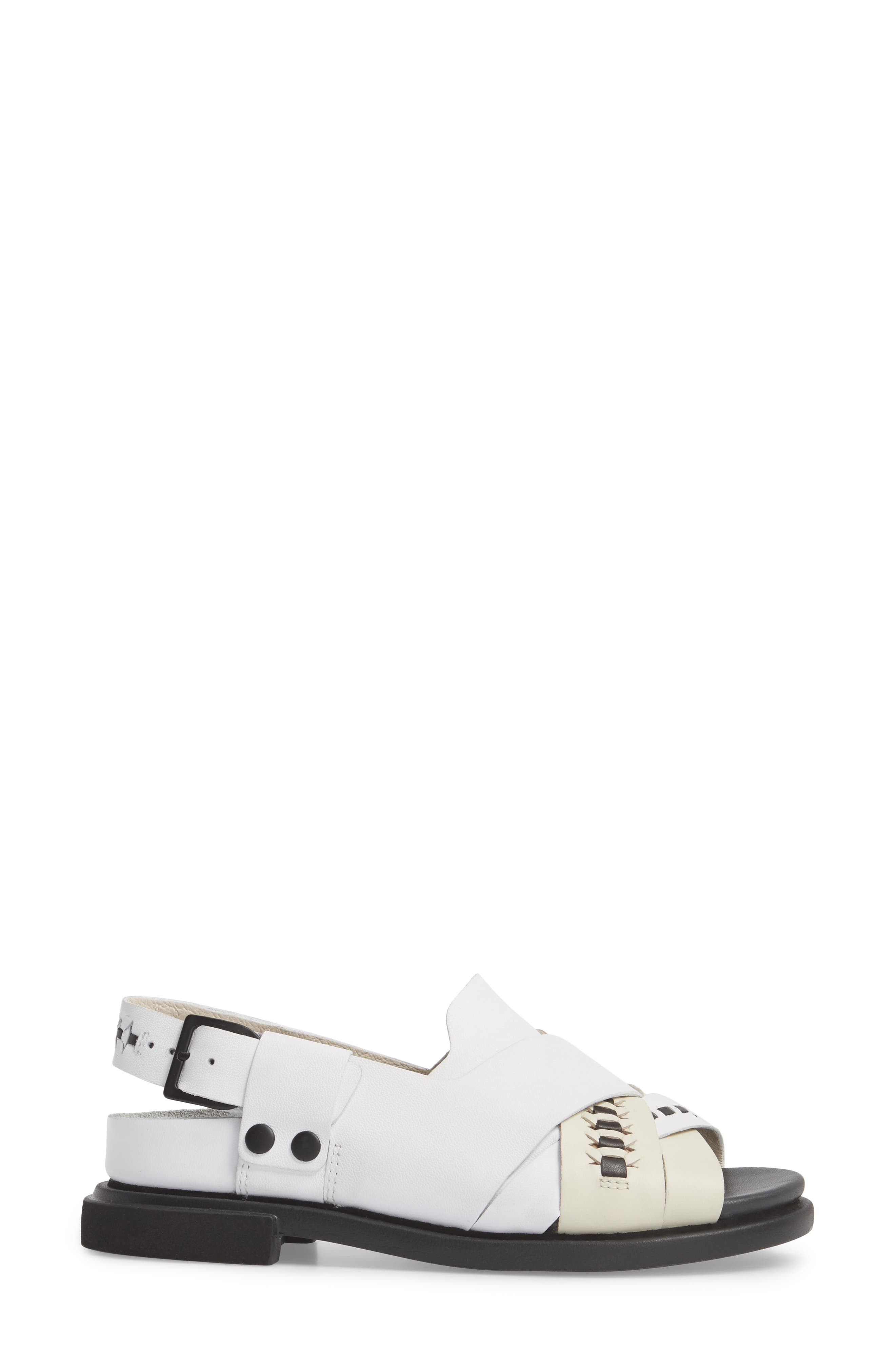 Twins Slingback Sandal,                             Alternate thumbnail 4, color,                             Multi - Assorted Leather