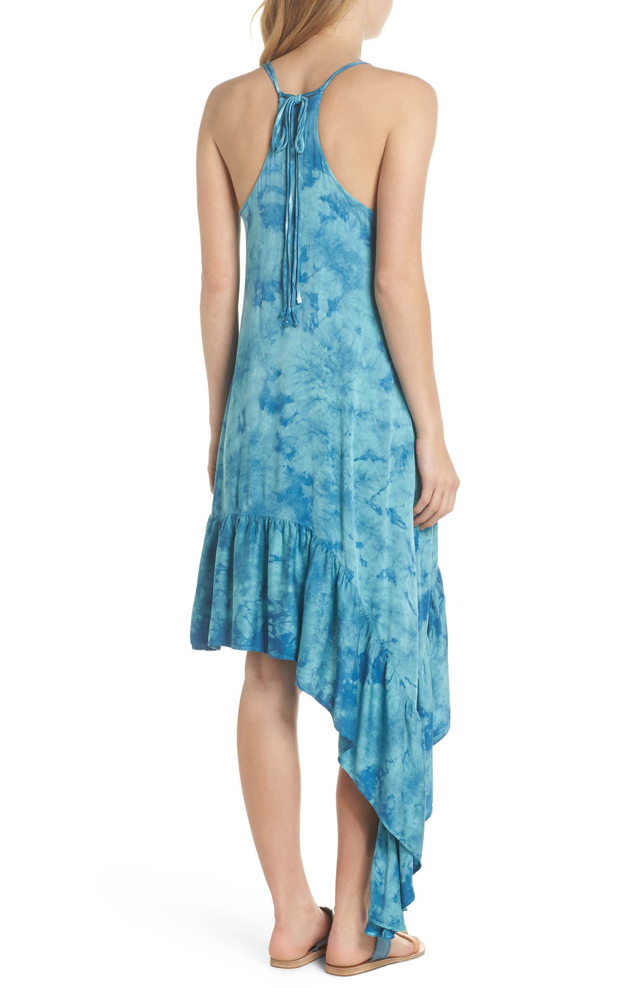 Crystal Forest Clementine Cover-Up Dress,                             Alternate thumbnail 2, color,                             Sky