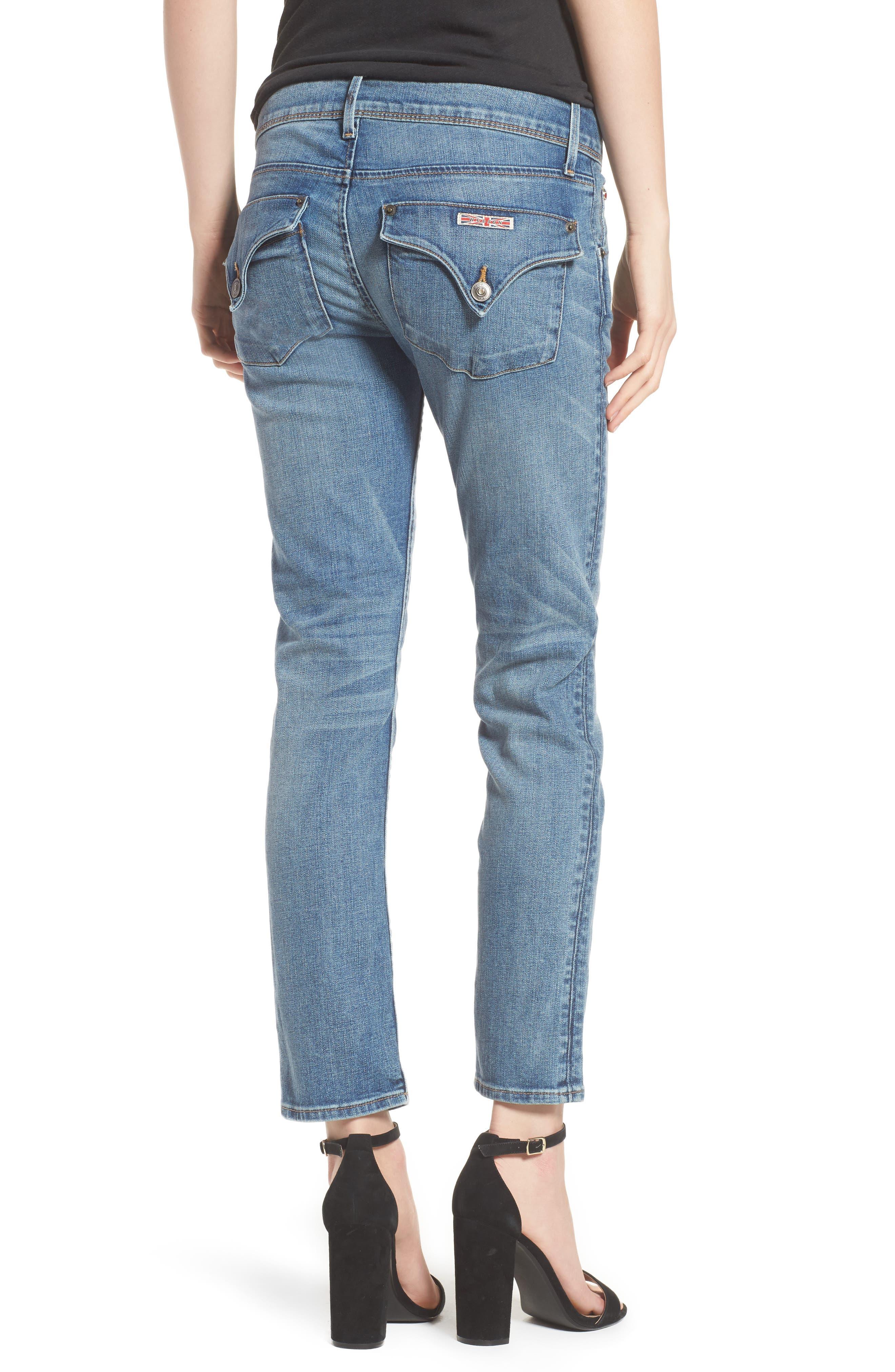 Hudson Collin Skinny Jeans,                             Alternate thumbnail 2, color,                             Hushed