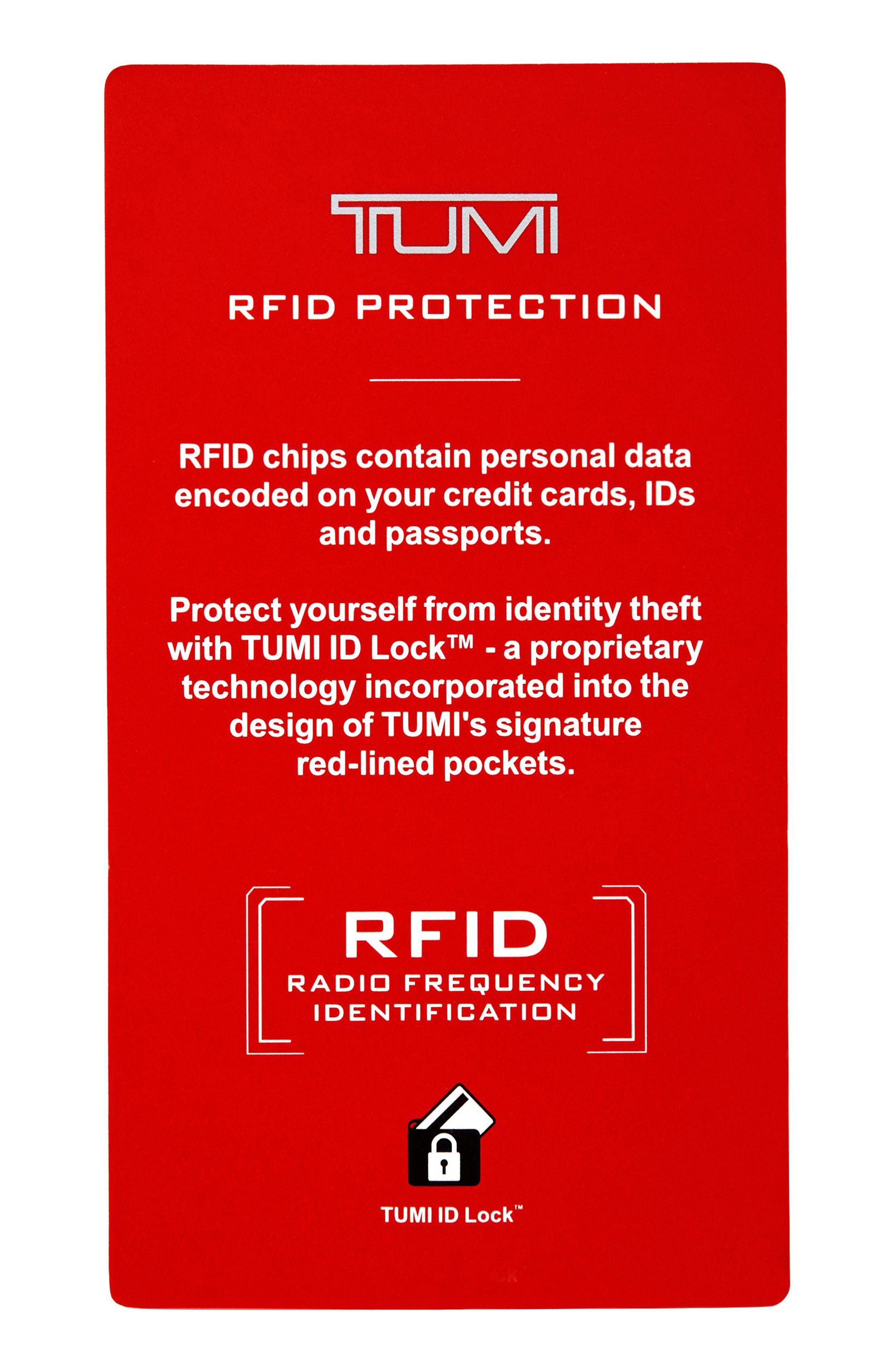 Slim RFID Card Case,                             Alternate thumbnail 3, color,                             Earl Grey