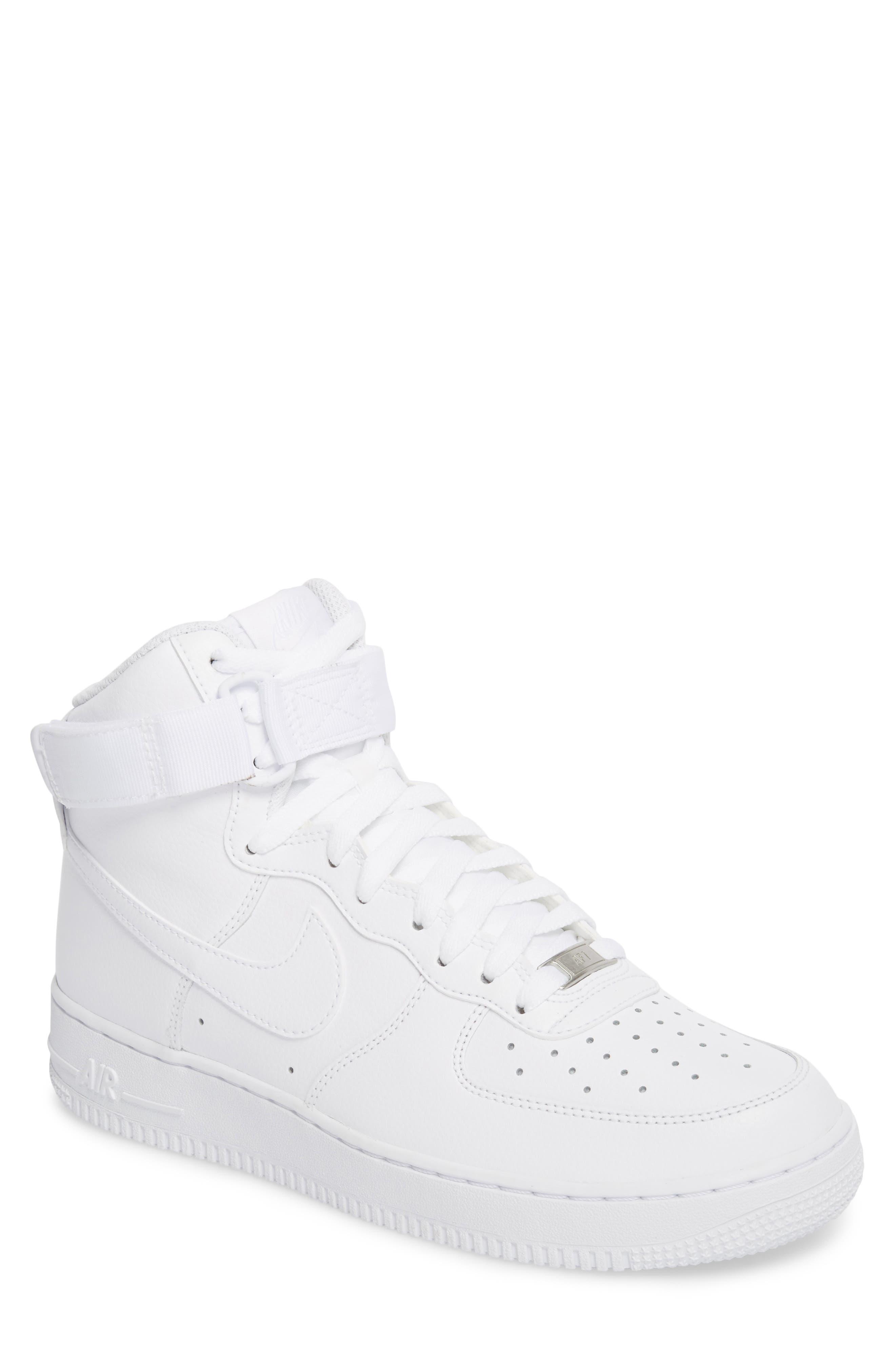 Alternate Image 1 Selected - Nike Air Force 1 High '07 Sneaker (Men)