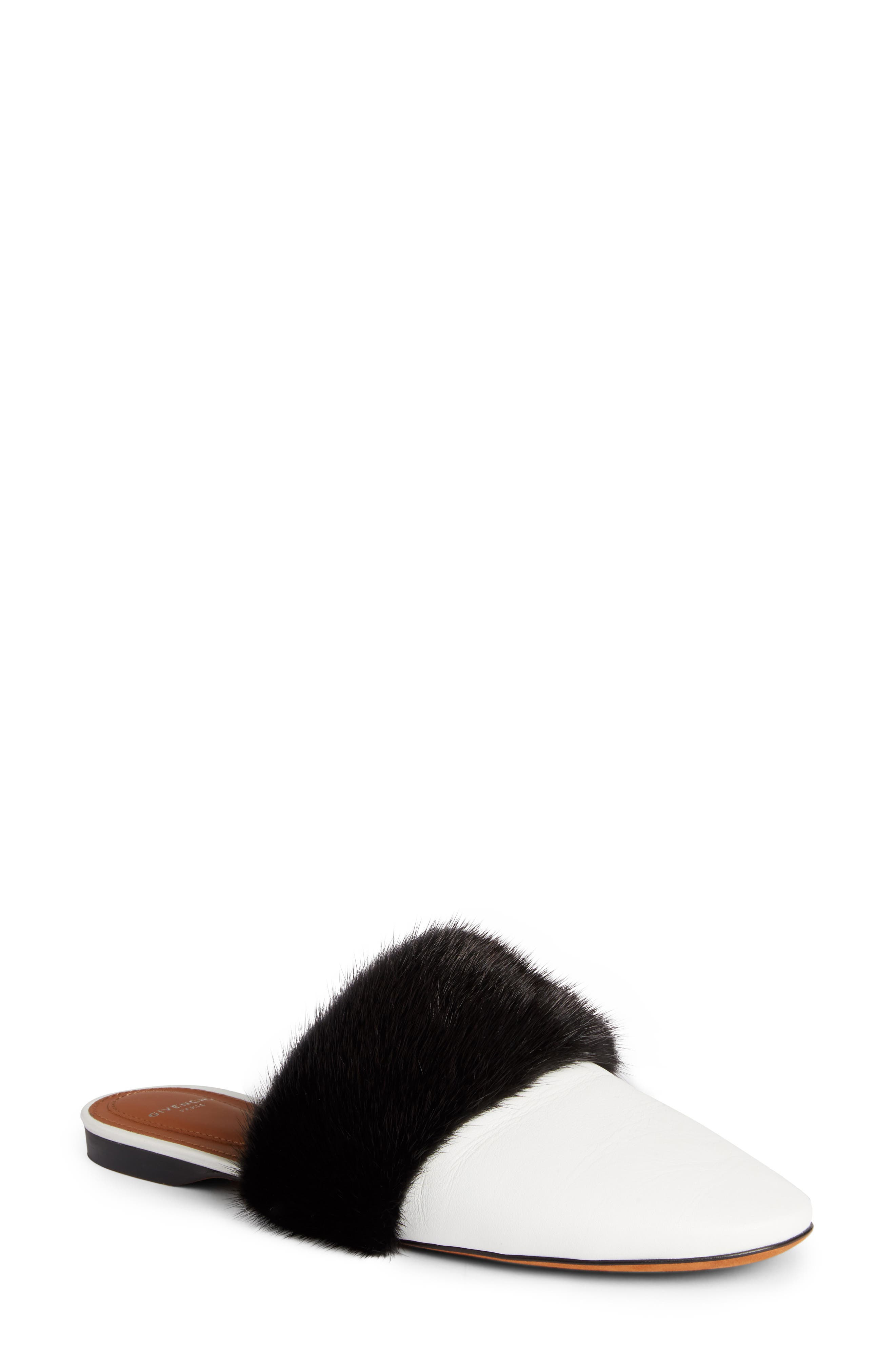 Alternate Image 1 Selected - Givenchy Genuine Mink Fur Mule (Women)