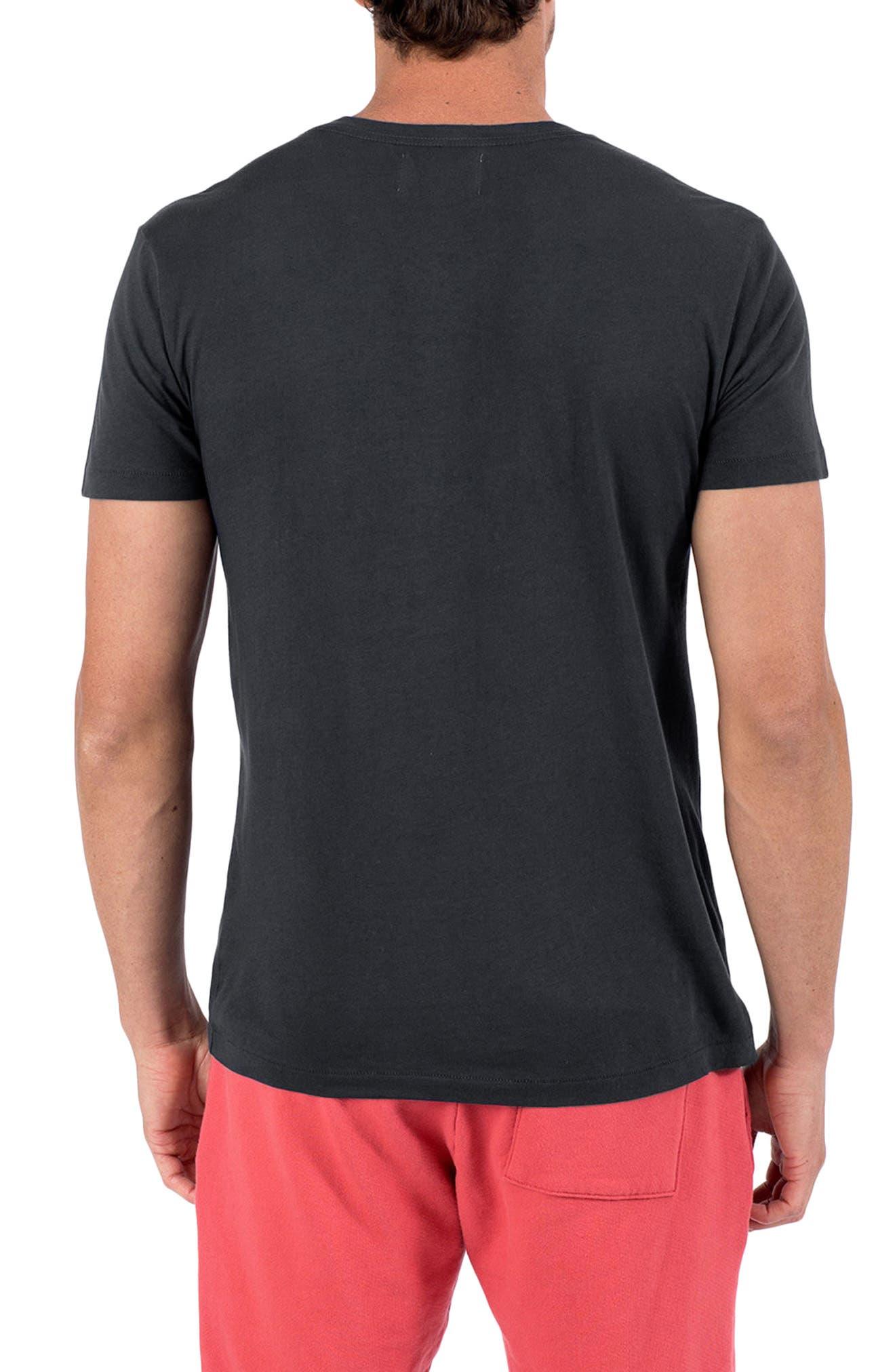 Sol Angele Viva Graphic T-Shirt,                             Alternate thumbnail 2, color,                             V Black