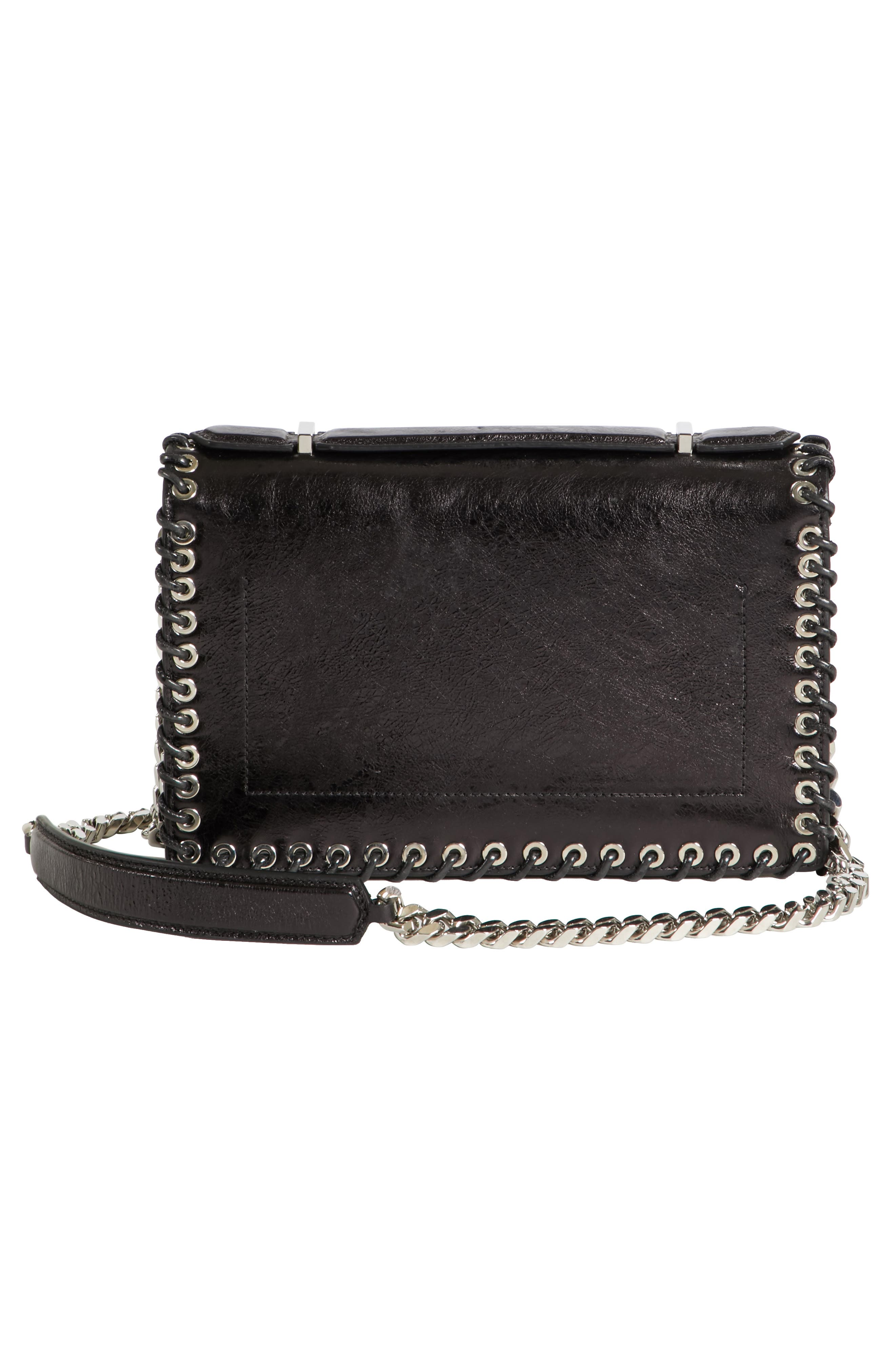 Alternate Image 3  - CALVIN KLEIN 205W39NYC Whipstitch Leather Shoulder Bag
