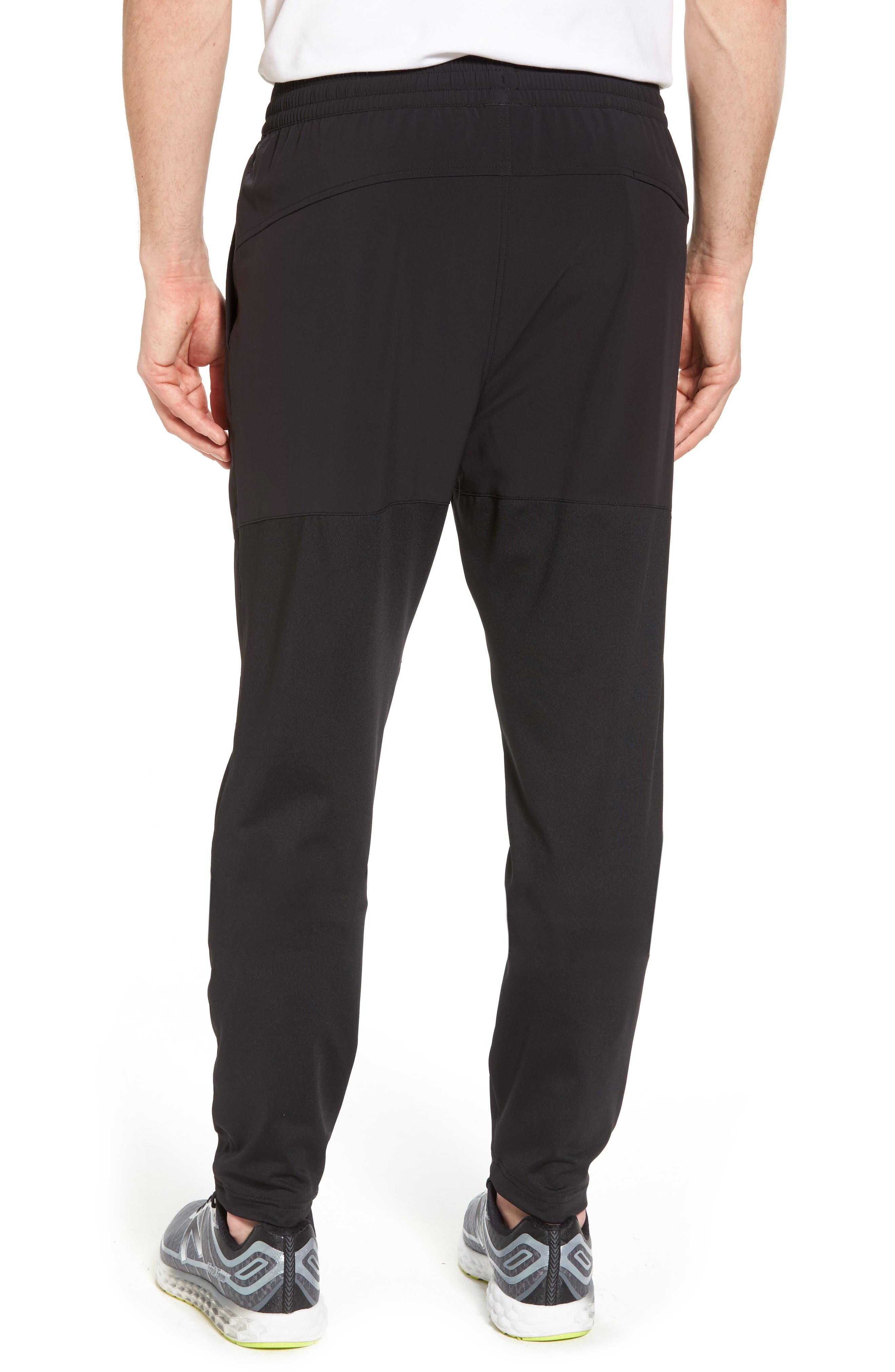 Graphite Tapered Athletic Pants,                             Alternate thumbnail 2, color,                             Black