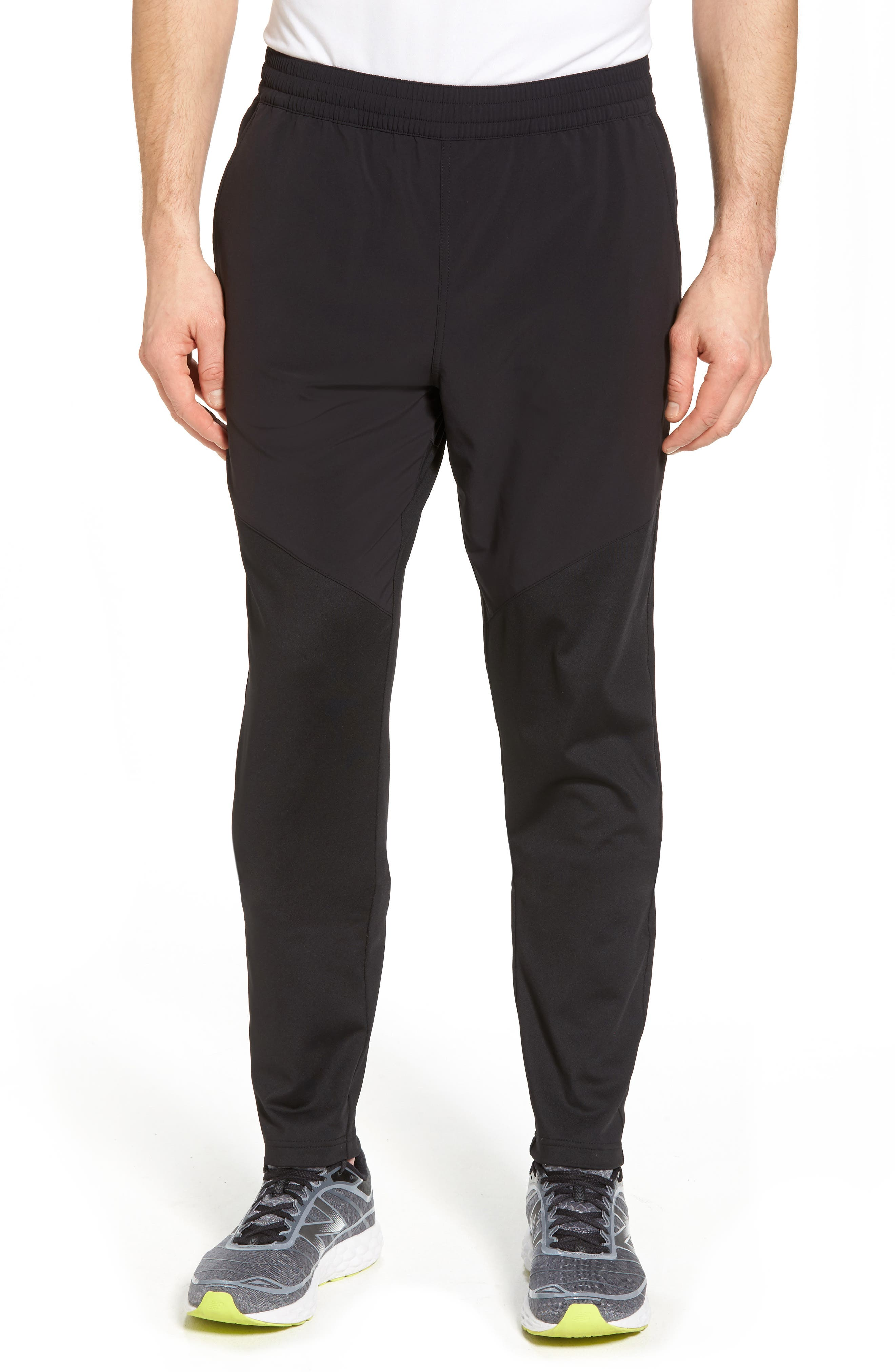 Graphite Tapered Athletic Pants,                             Main thumbnail 1, color,                             Black