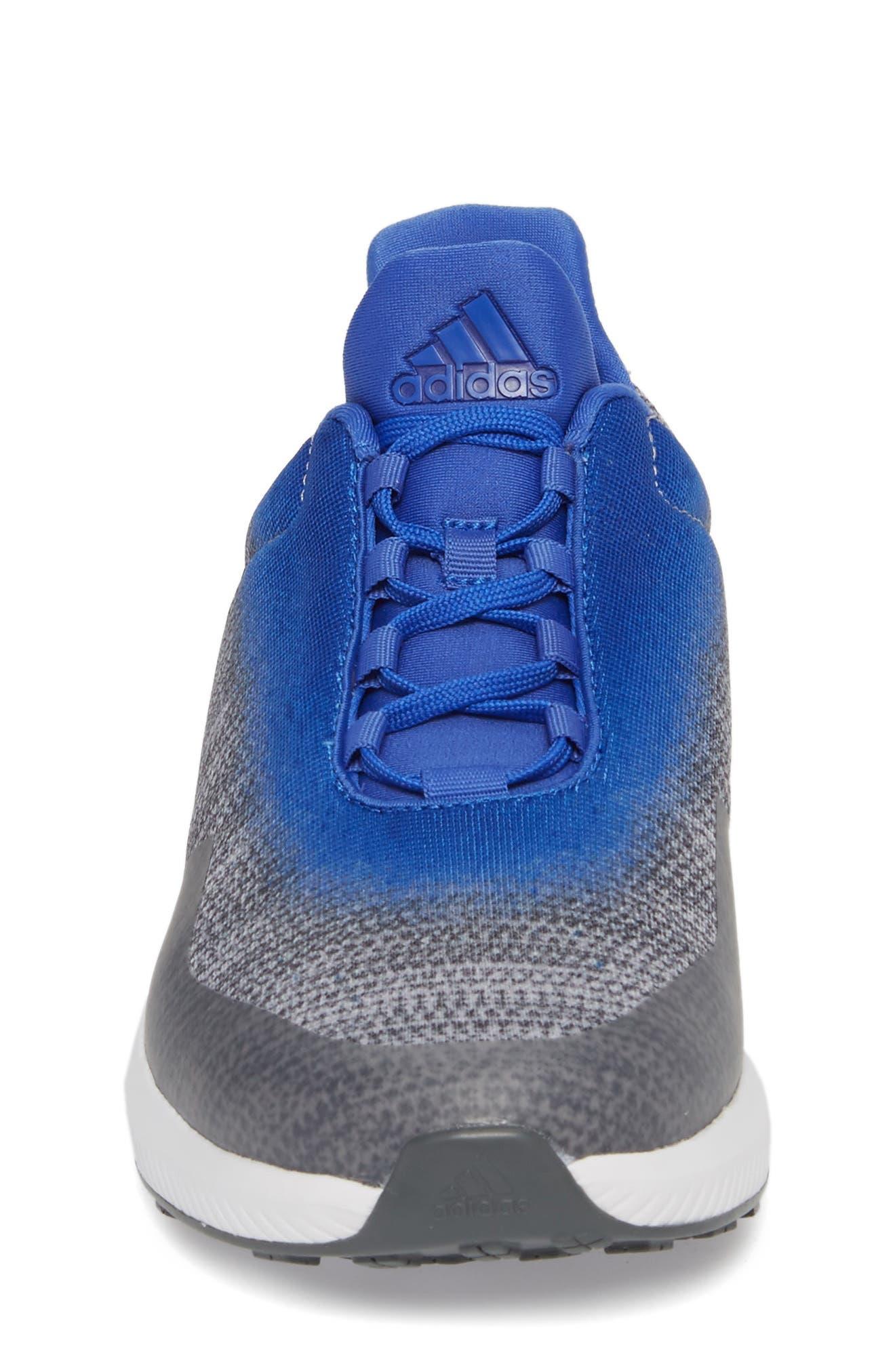 RapidaRun Uncaged Sneaker,                             Alternate thumbnail 4, color,                             Grey / Grey / Blue