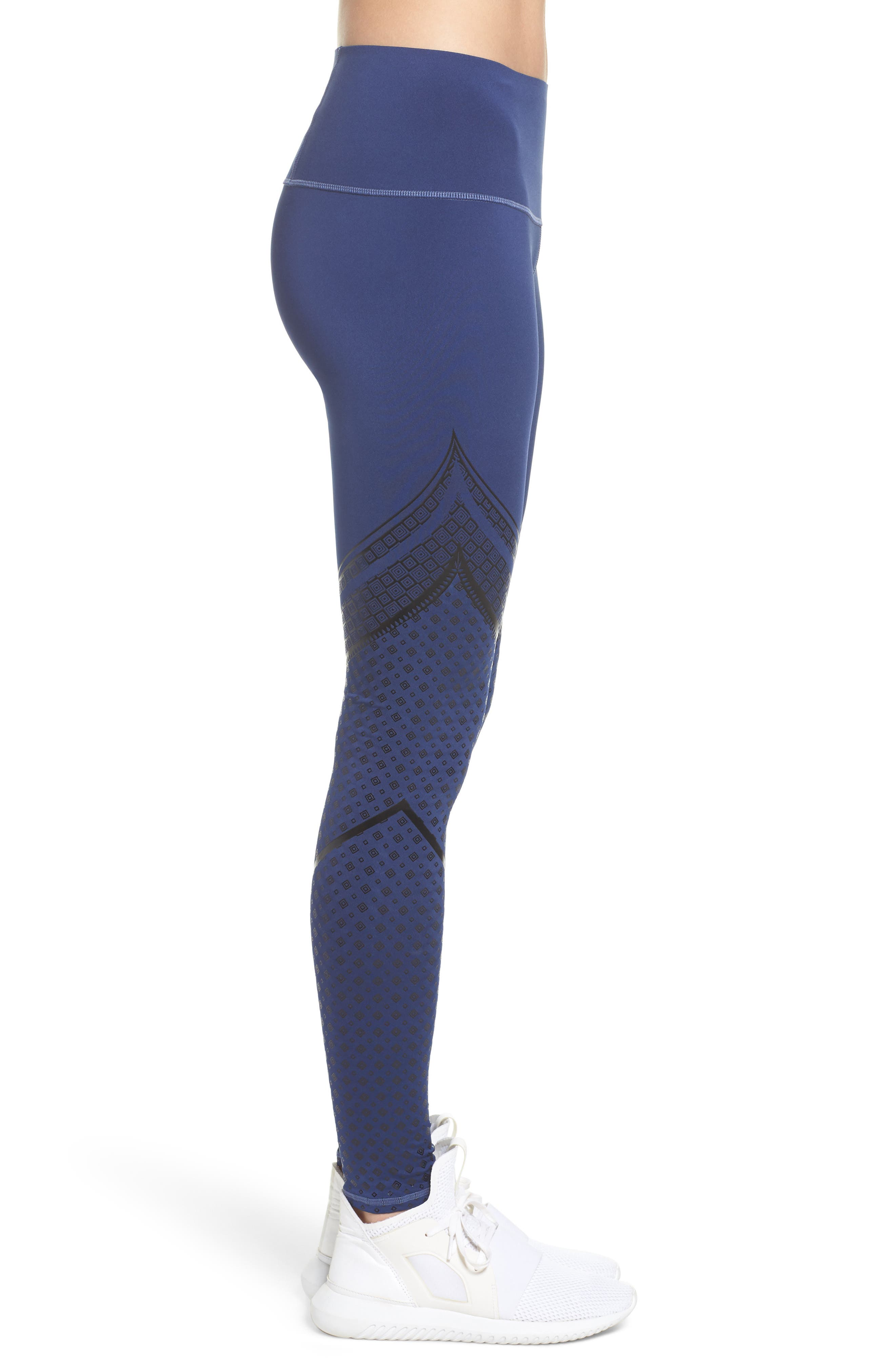 Everyday Train Tights,                             Alternate thumbnail 3, color,                             Blue Indigo