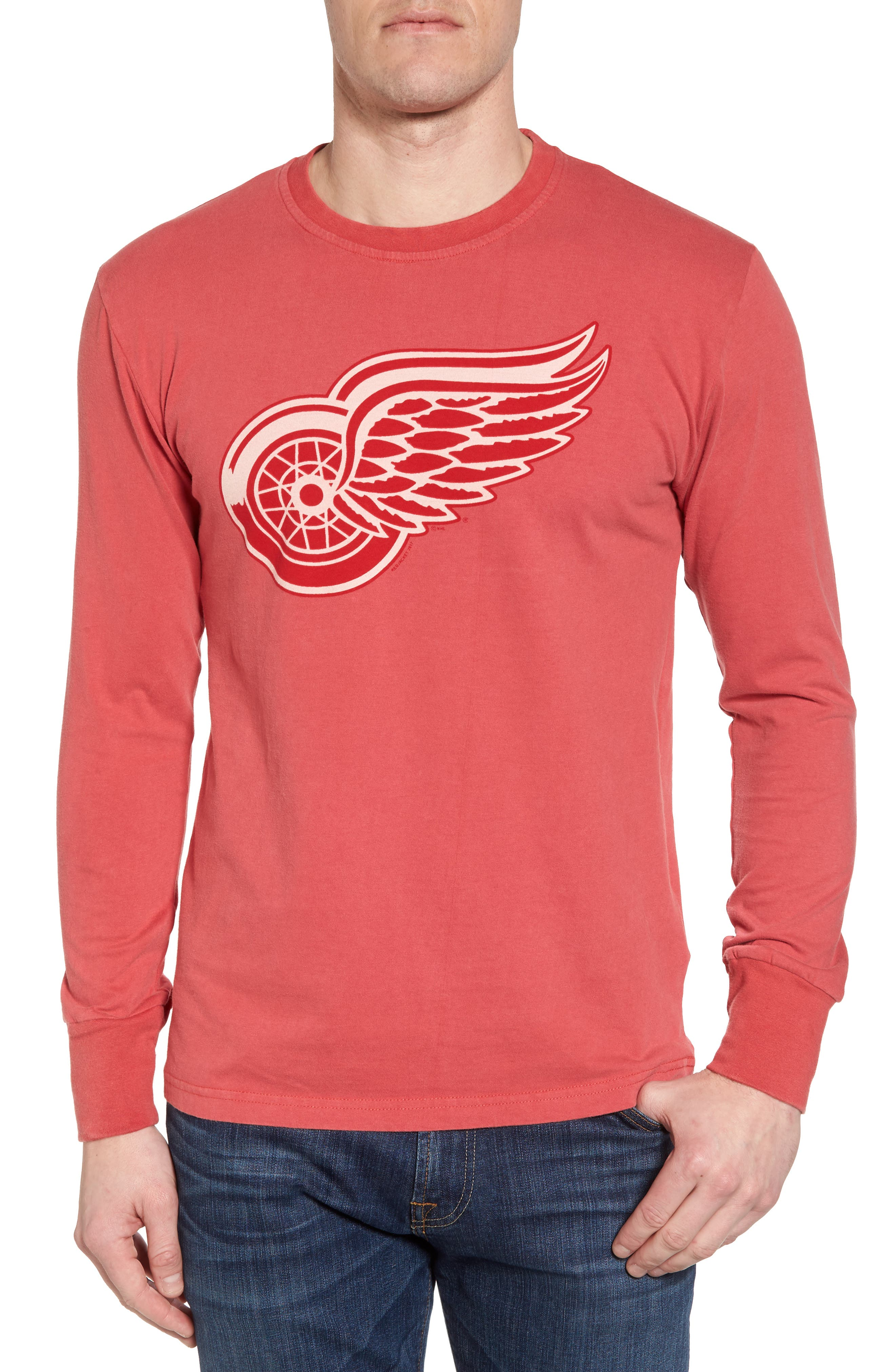 Gresham Red Wings T-Shirt,                         Main,                         color, Red