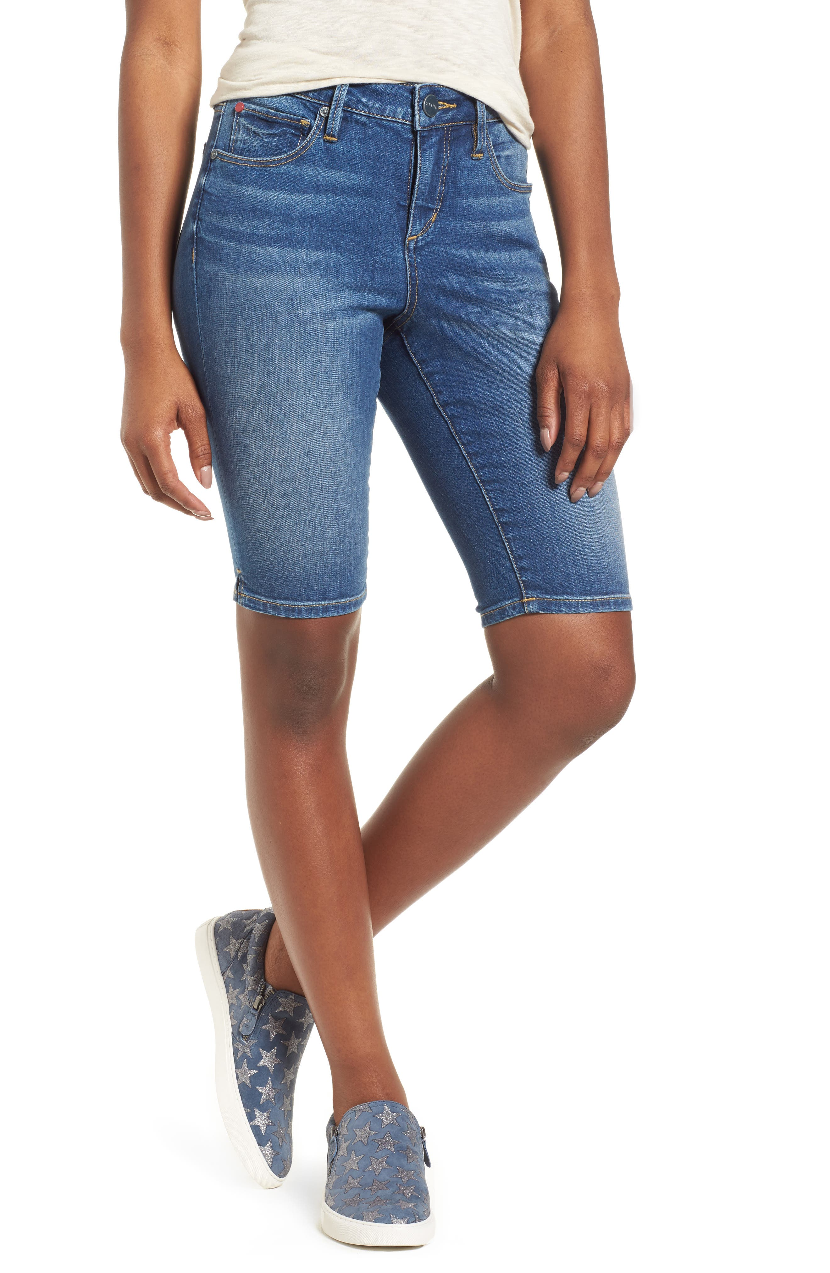 SLINK Jeans Bermuda Shorts (Birdy)