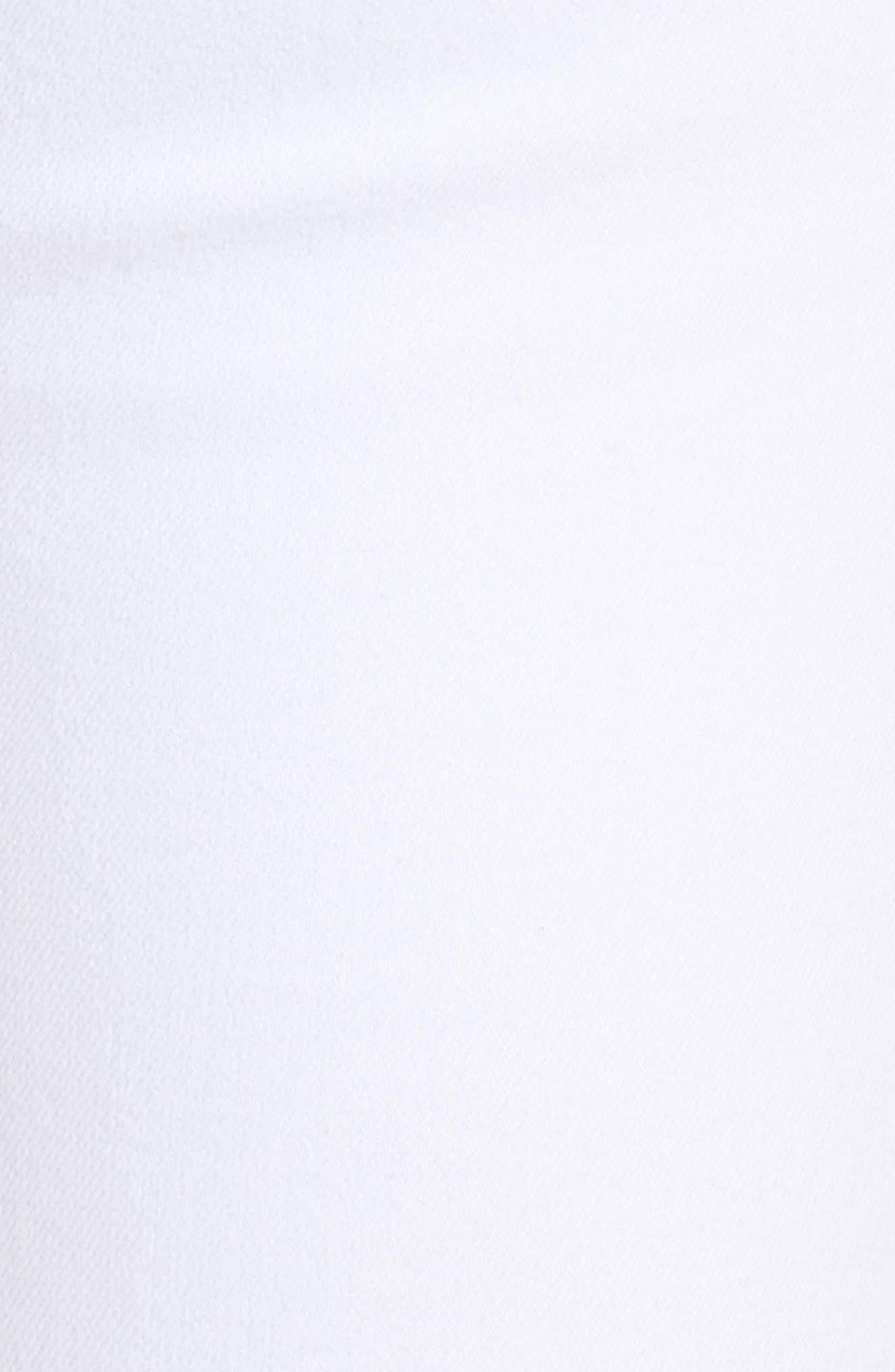 Mia Skinny Jeans,                             Alternate thumbnail 5, color,                             Optic White