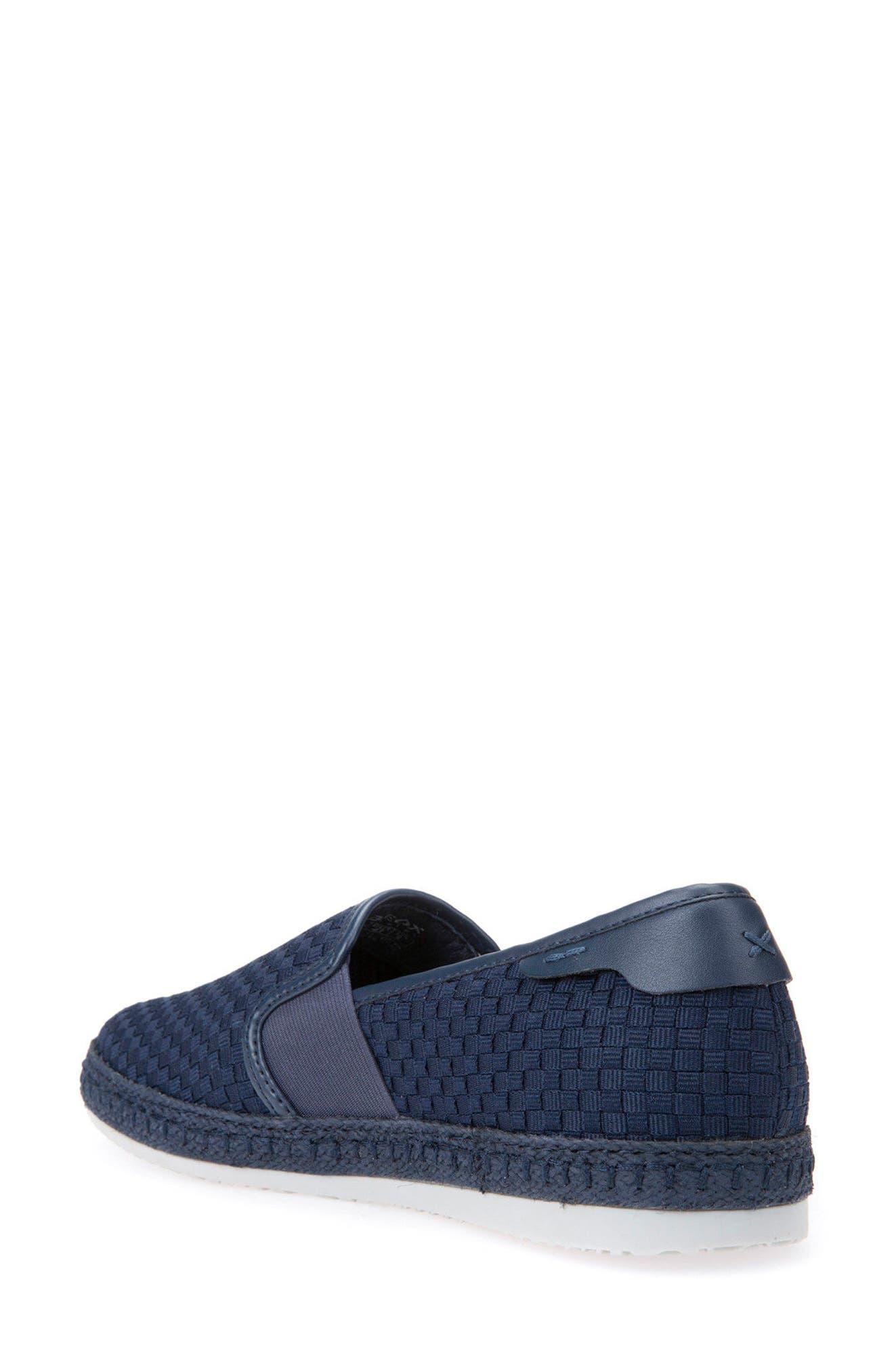 Copacaban 10 Woven Slip-On Sneaker,                             Alternate thumbnail 3, color,                             Sand