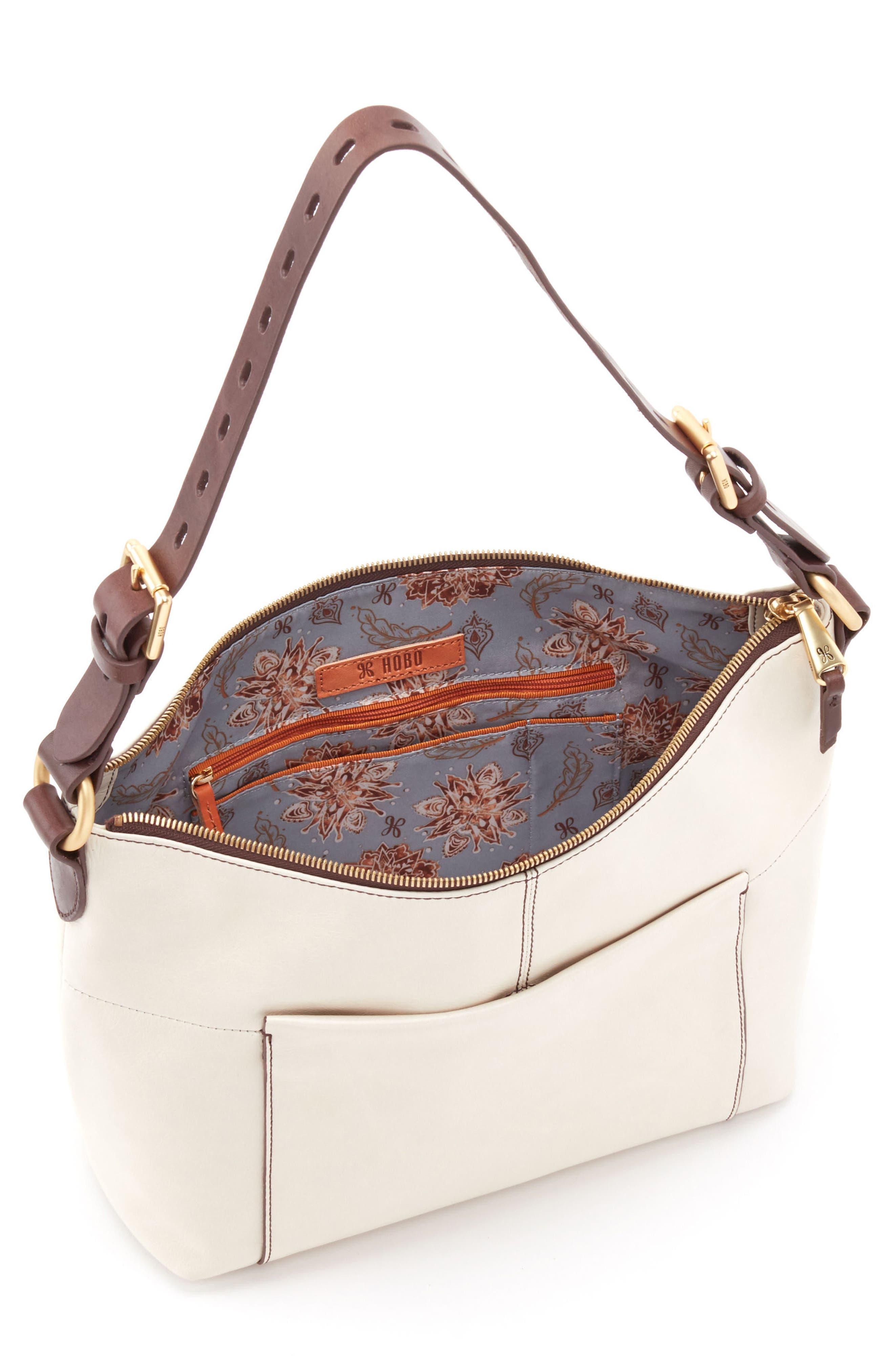 Alternate Image 3  - Hobo 'Charlie' Leather Shoulder Bag