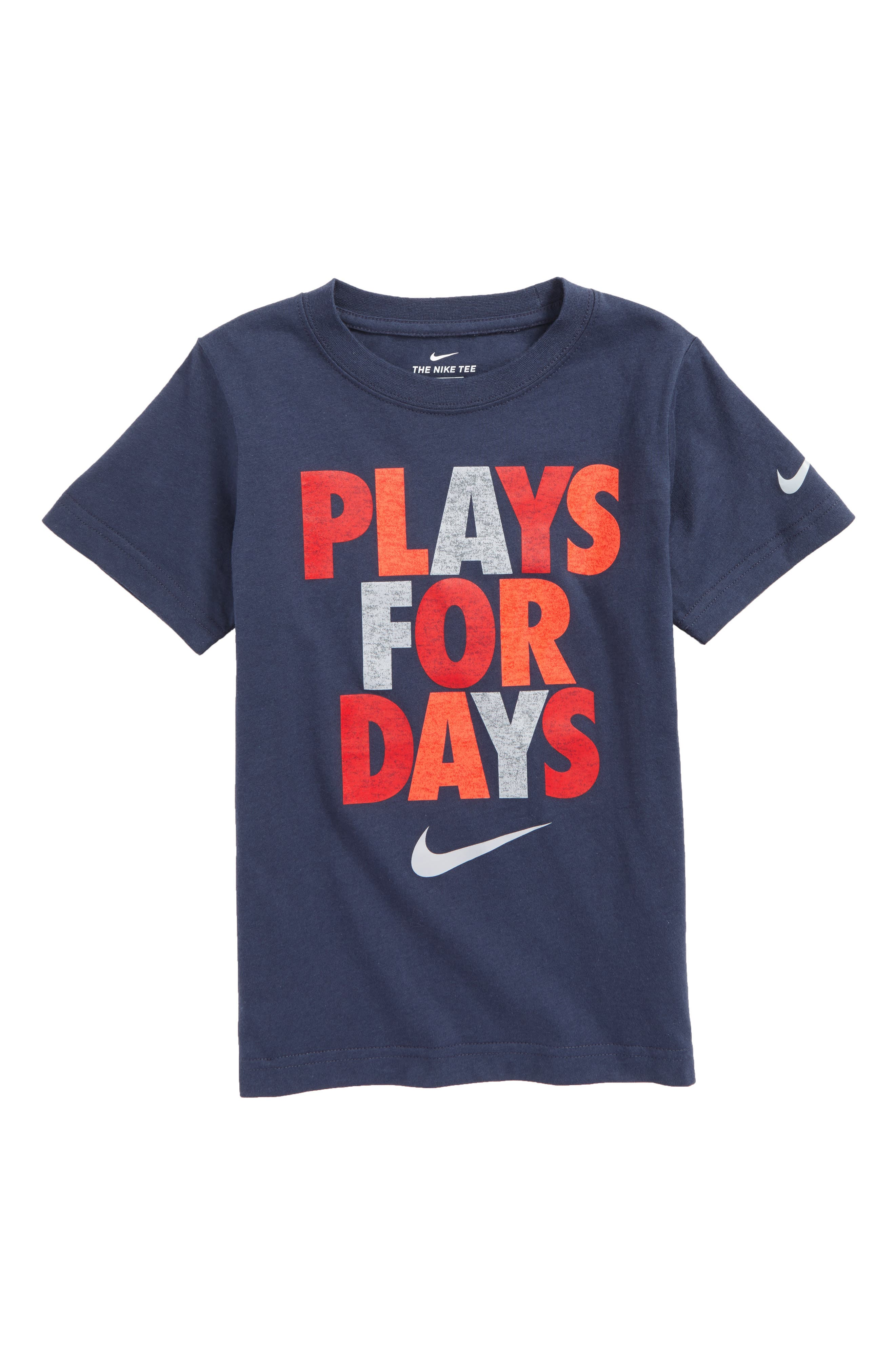 Plays for Days Graphic T-Shirt,                             Main thumbnail 1, color,                             Thunder Blue
