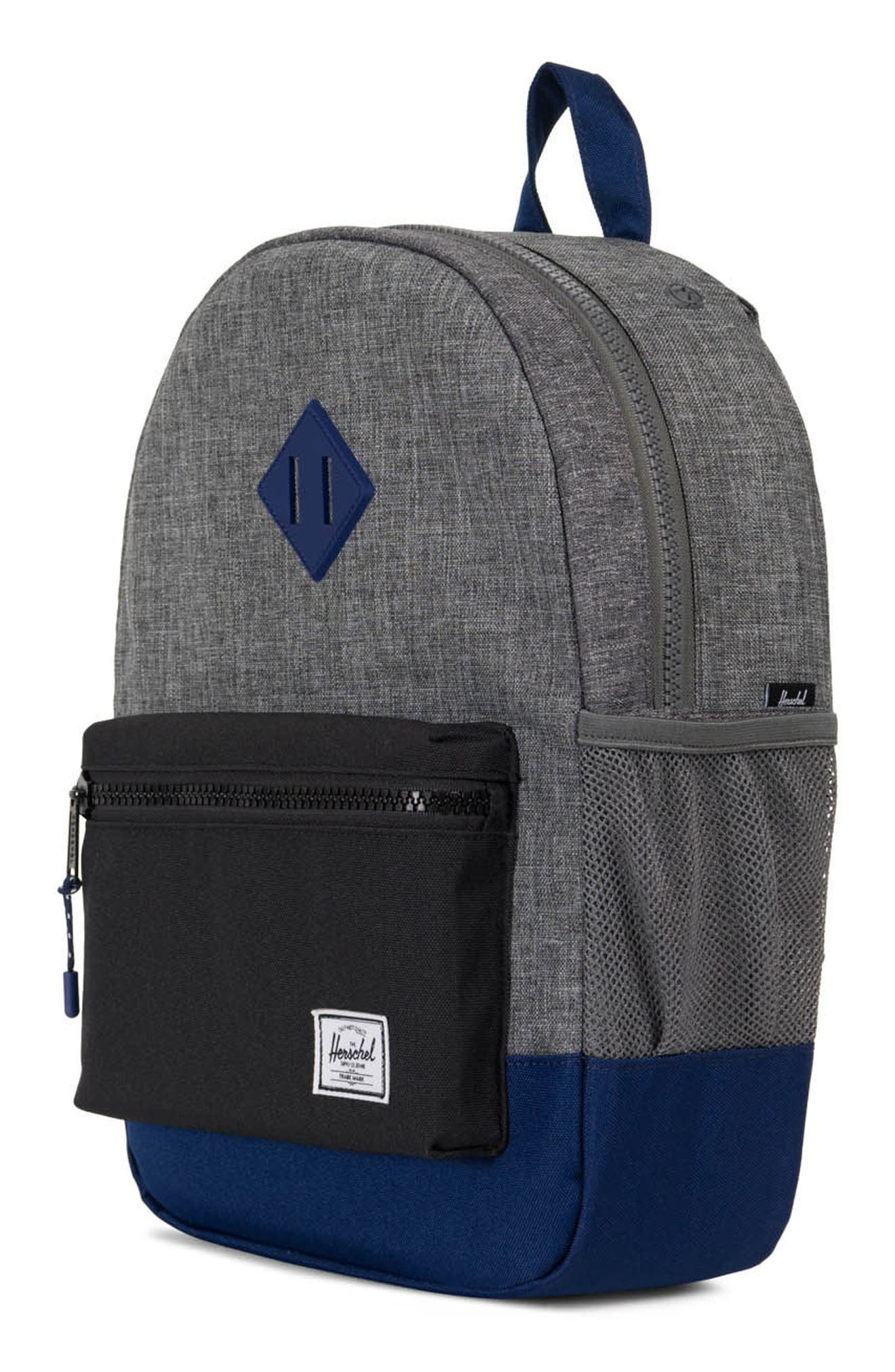 Heritage Backpack,                             Alternate thumbnail 2, color,                             Raven/ Black