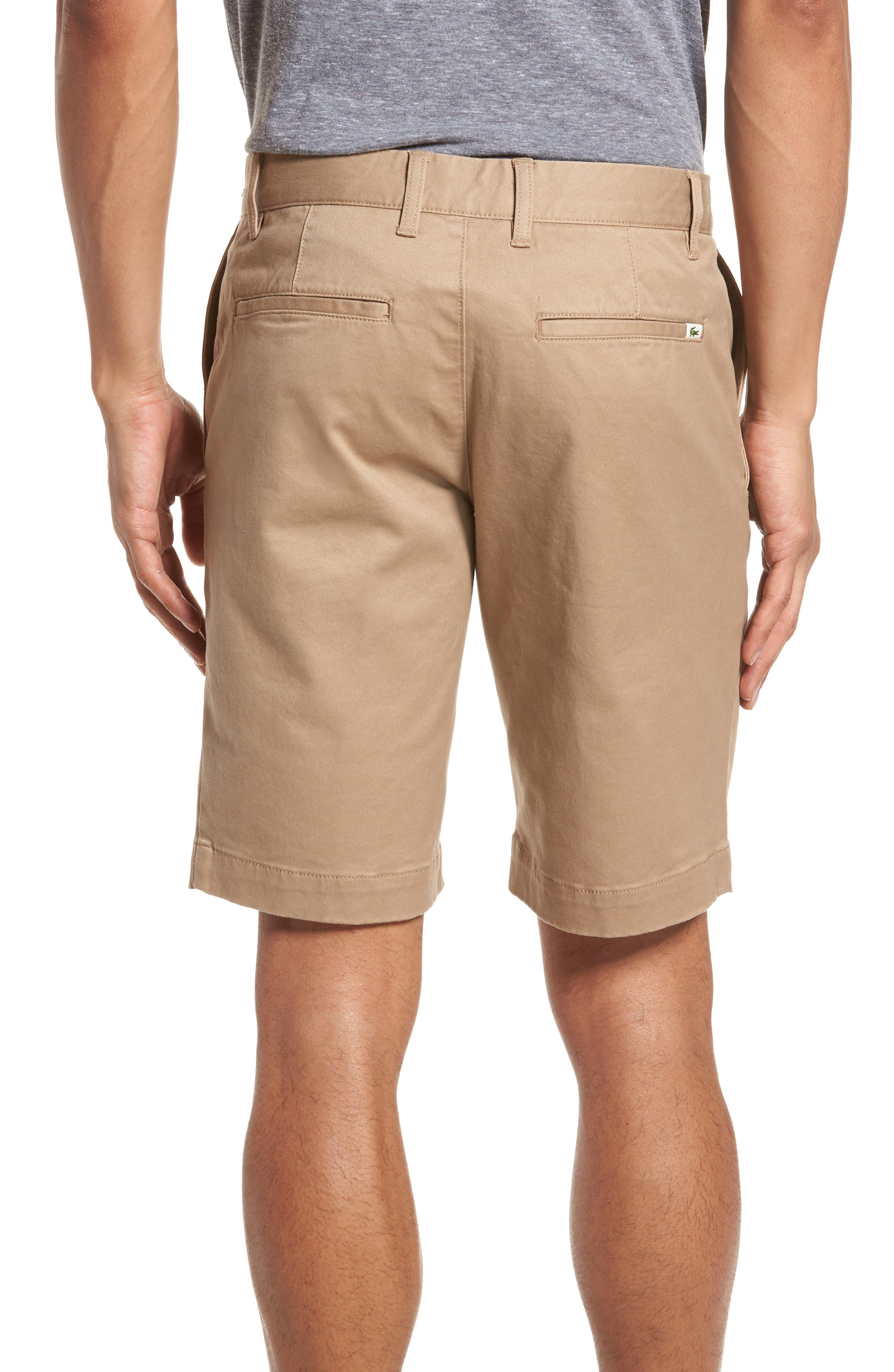 Slim Fit Chino Shorts,                             Alternate thumbnail 2, color,                             Kraft Beige