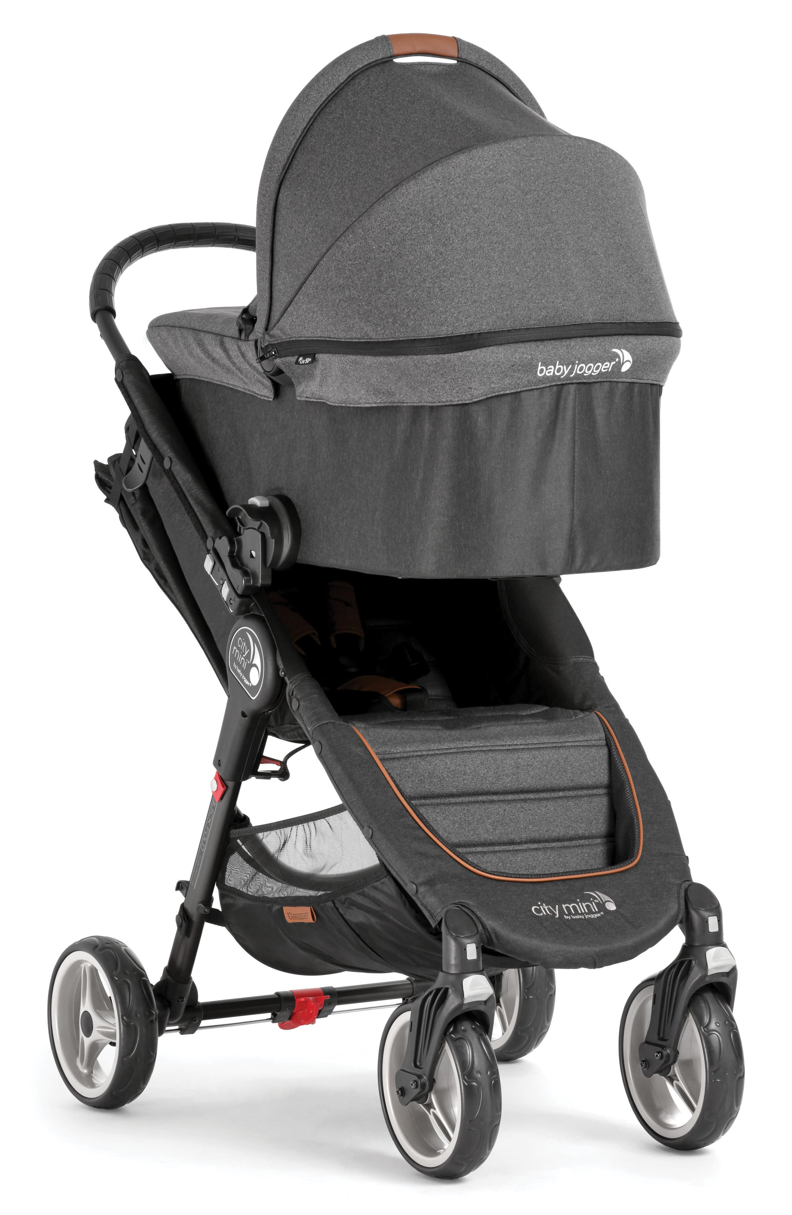 Deluxe Pram Converter Kit for City Mini<sup>®</sup> 2018 Special Edition 10-Year Anniversary All-Terrain Stroller,                             Alternate thumbnail 7, color,                             Grey