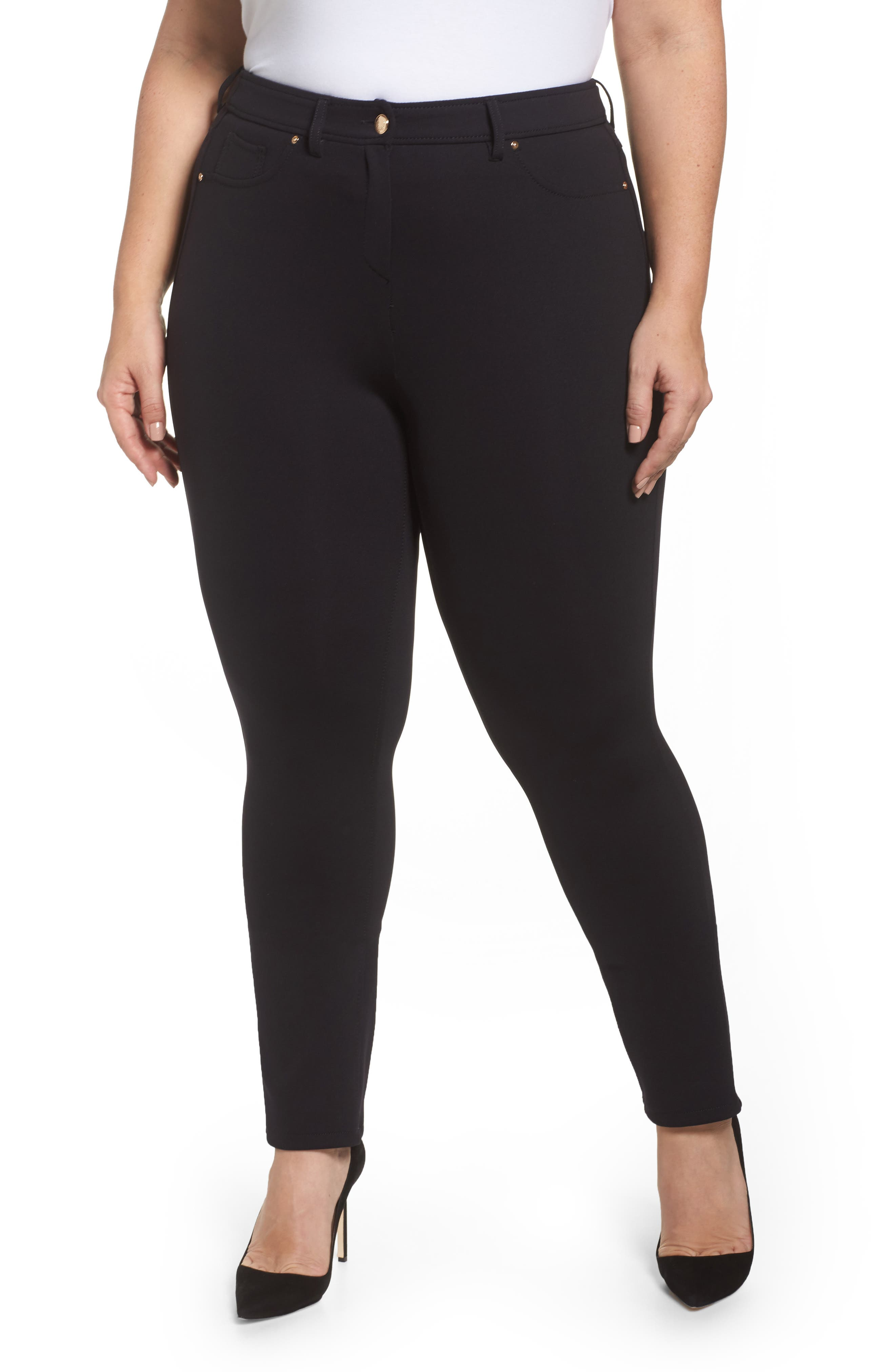 Odalisca Jersey Pants,                         Main,                         color, Black