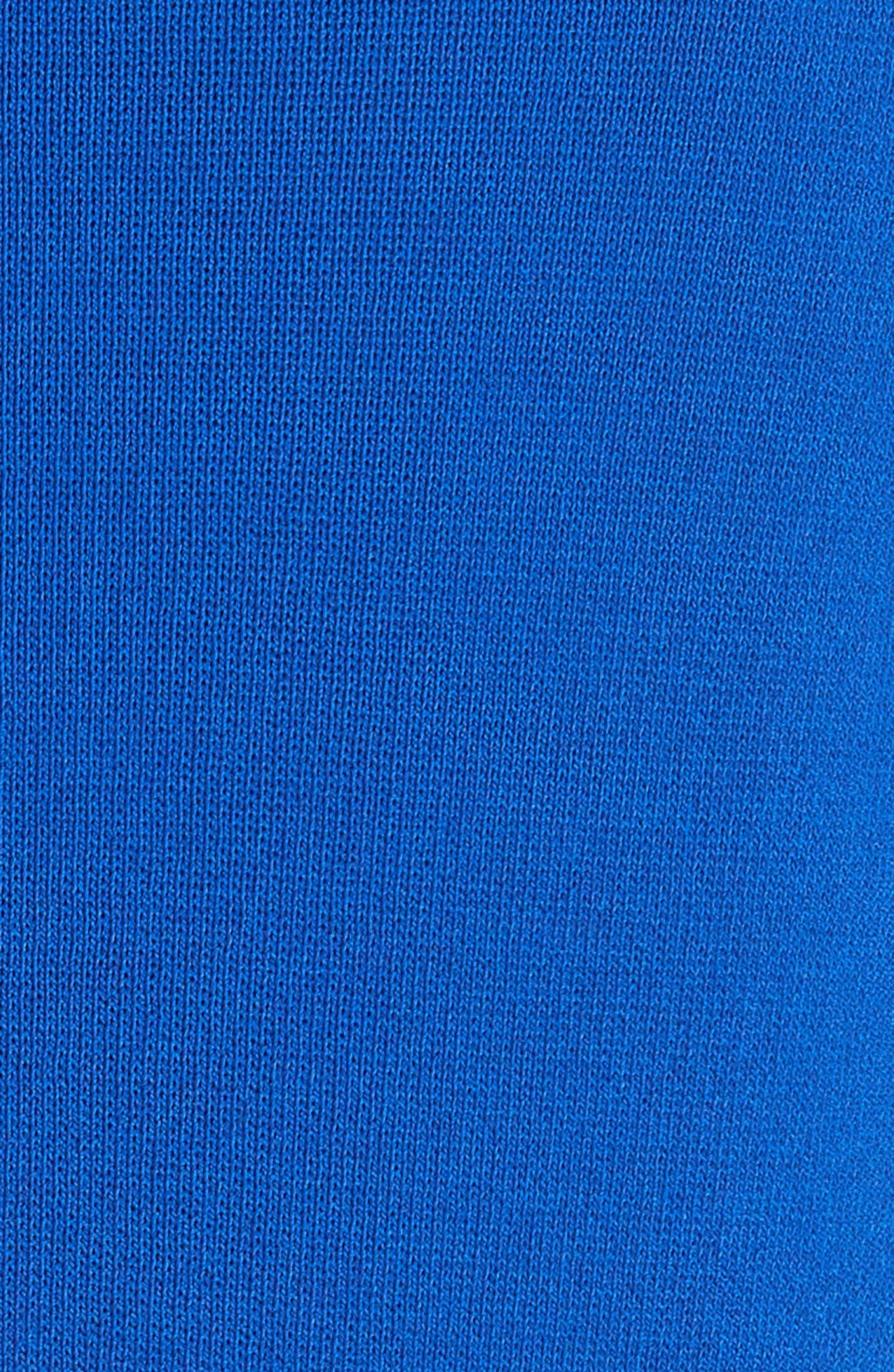 Alternate Image 5  - Emporio Armani High Neck Fit & Flare Dress