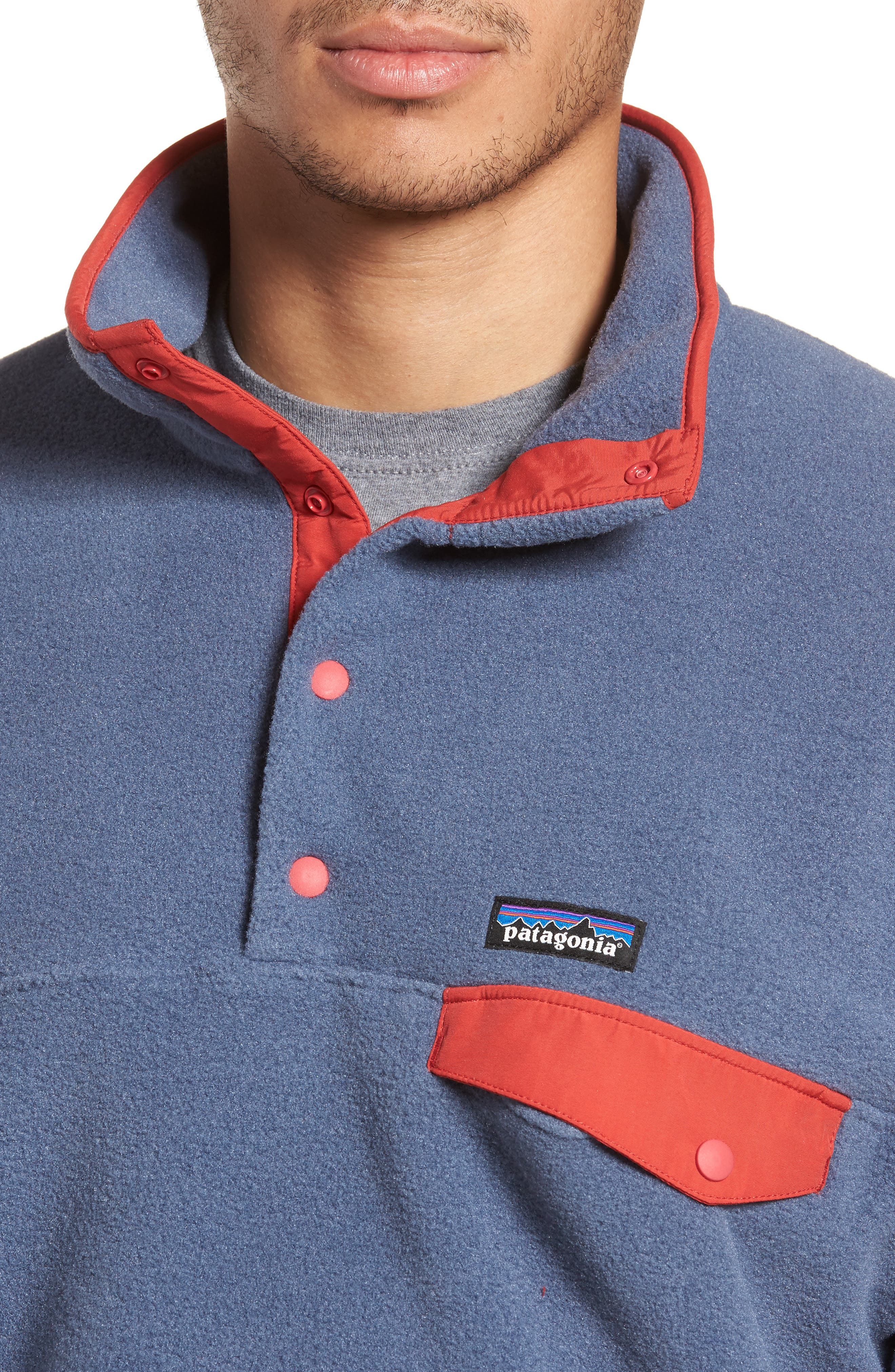 Alternate Image 4  - Patagonia Synchilla® Snap-T® Fleece Pullover