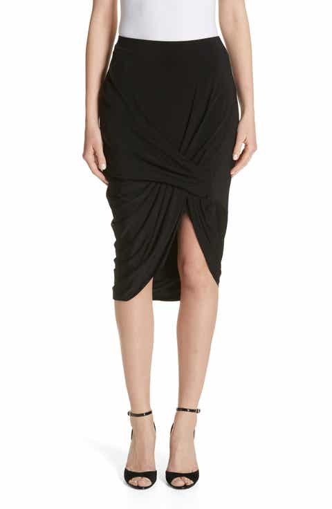 Jason Wu Jersey Asymmetrical Skirt