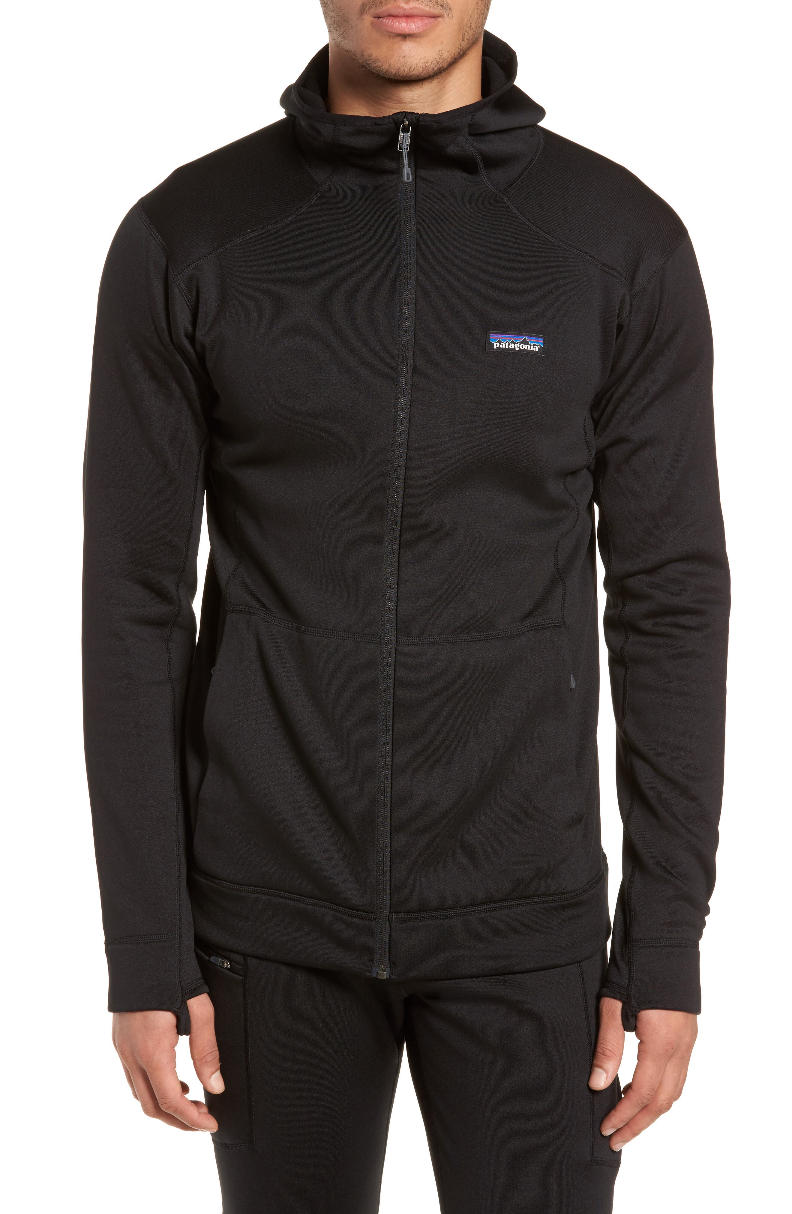 M's Crosstrek Zip Hoodie,                             Alternate thumbnail 4, color,                             Black
