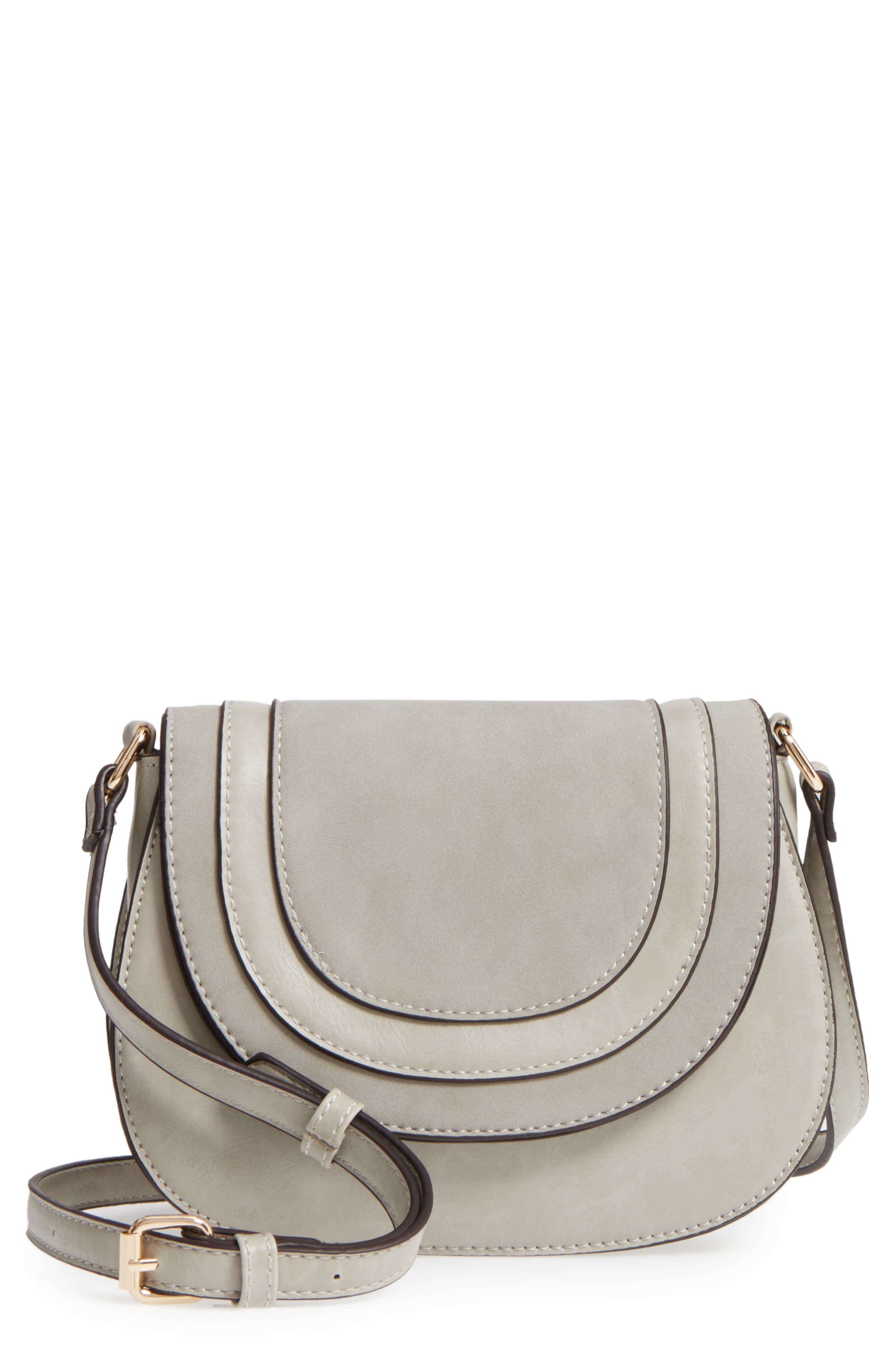 Main Image - Sole Society Bryson Faux Leather Crossbody Bag