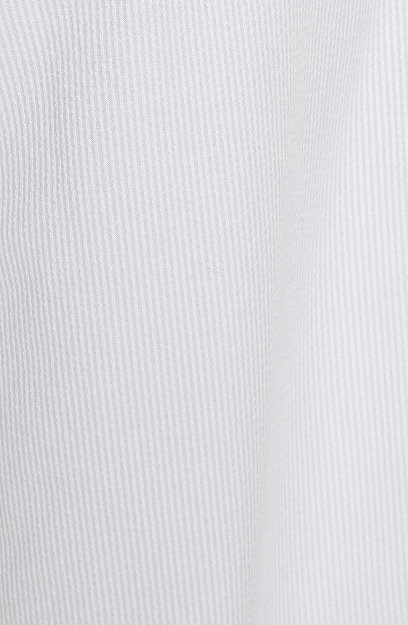 Natalie Crop Tie Waist Pants,                             Alternate thumbnail 6, color,                             Grey
