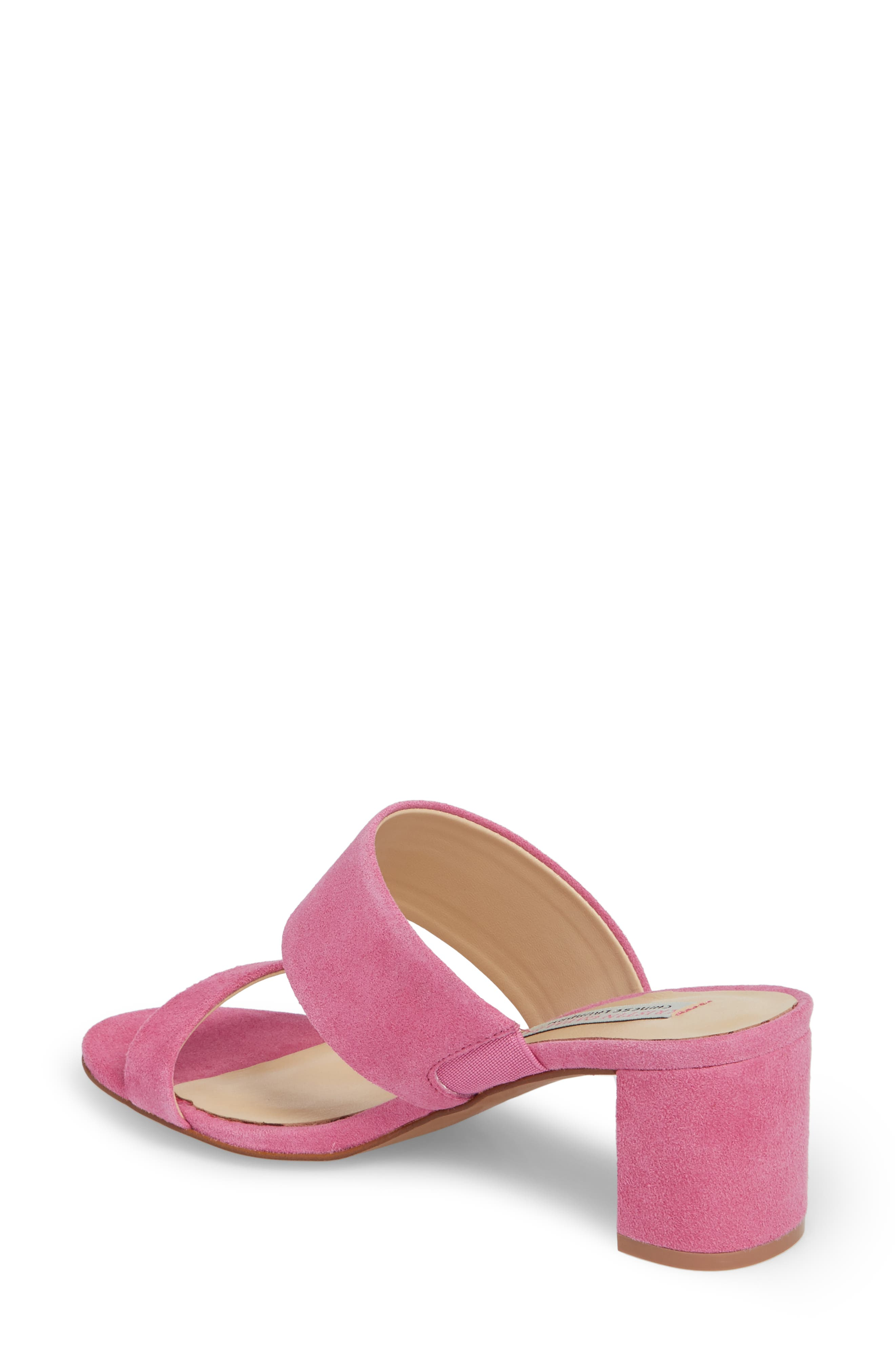 Lakeview Sandal,                             Alternate thumbnail 2, color,                             Fuchsia Suede