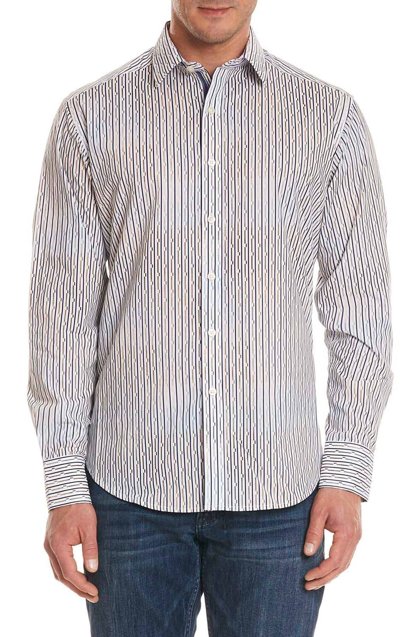 Trinidad Classic Fit Sport Shirt,                         Main,                         color, Multi