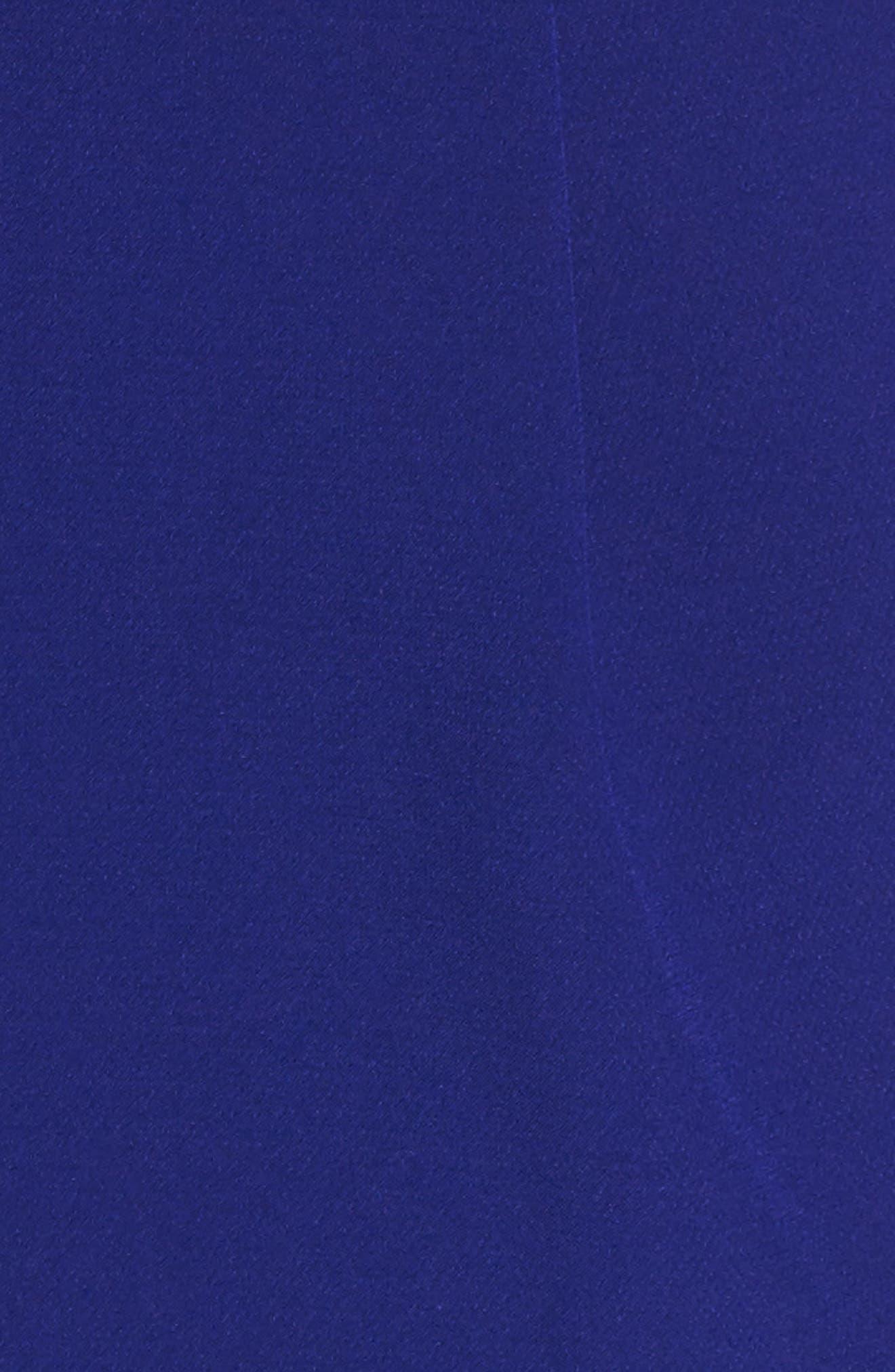 Strapless Jumpsuit,                             Alternate thumbnail 5, color,                             Dark Cobalt