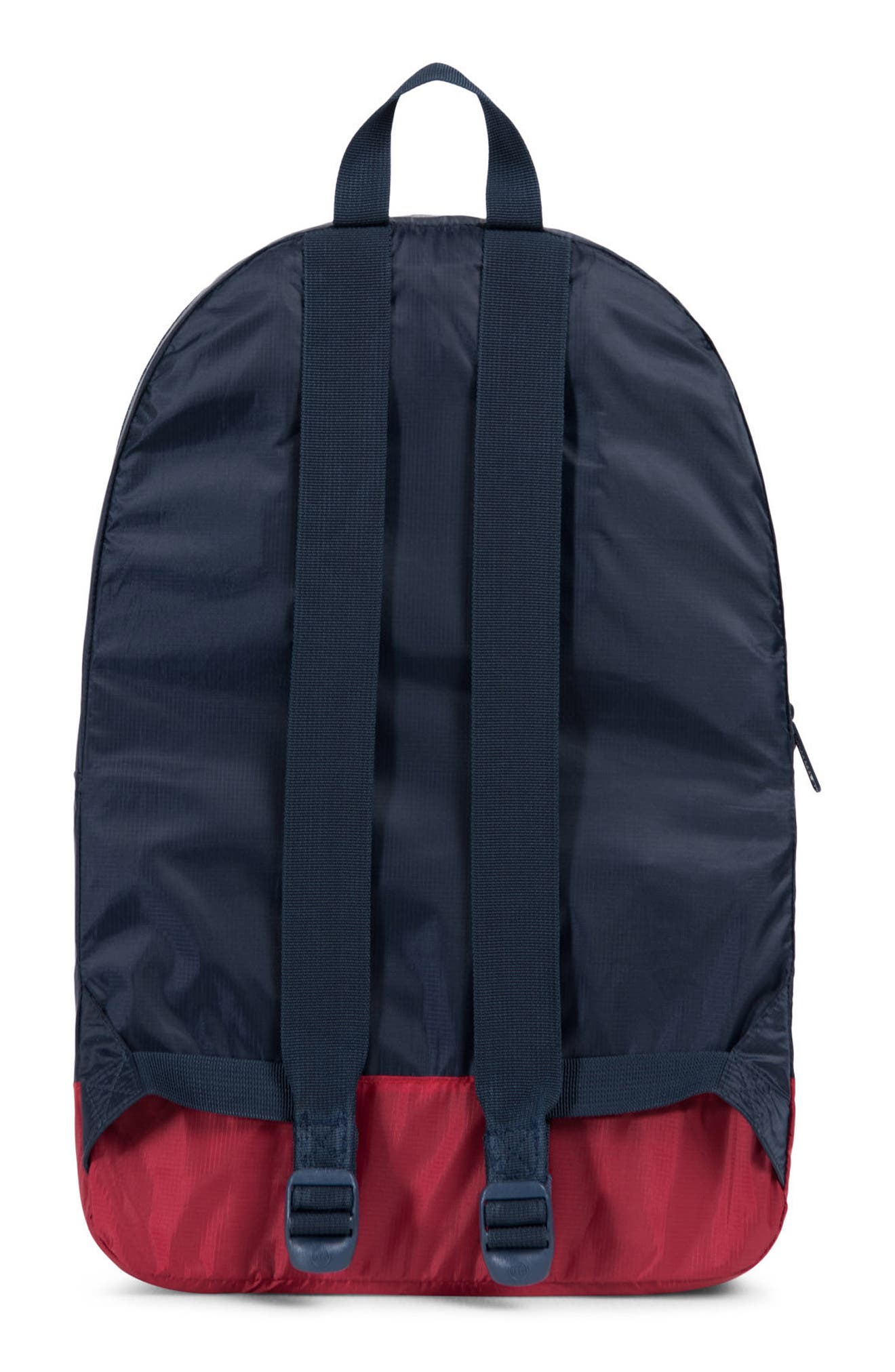 Packable Daypack,                             Alternate thumbnail 2, color,                             Navy/ Red